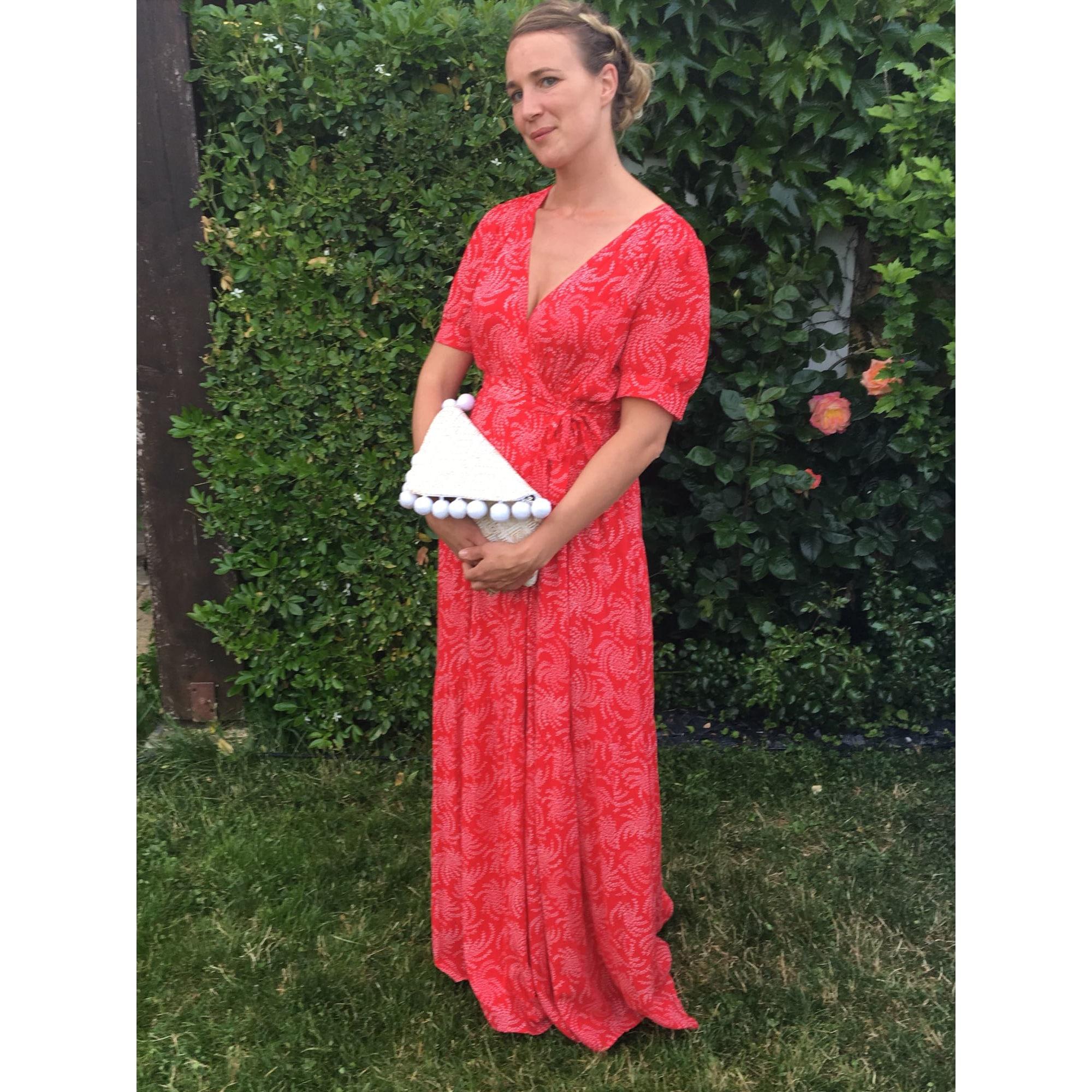 robe longue bash rouge