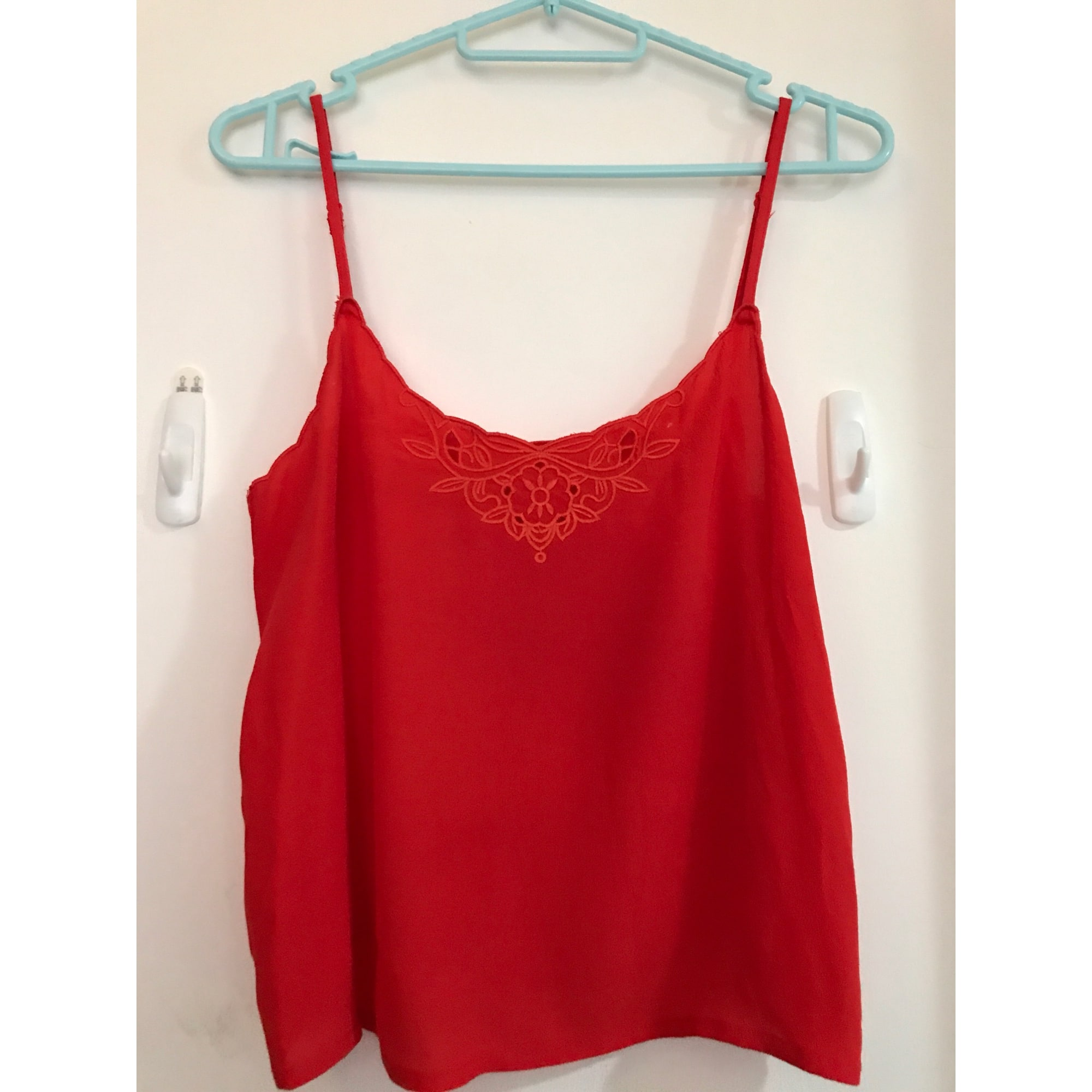t shirt rouge femme zara