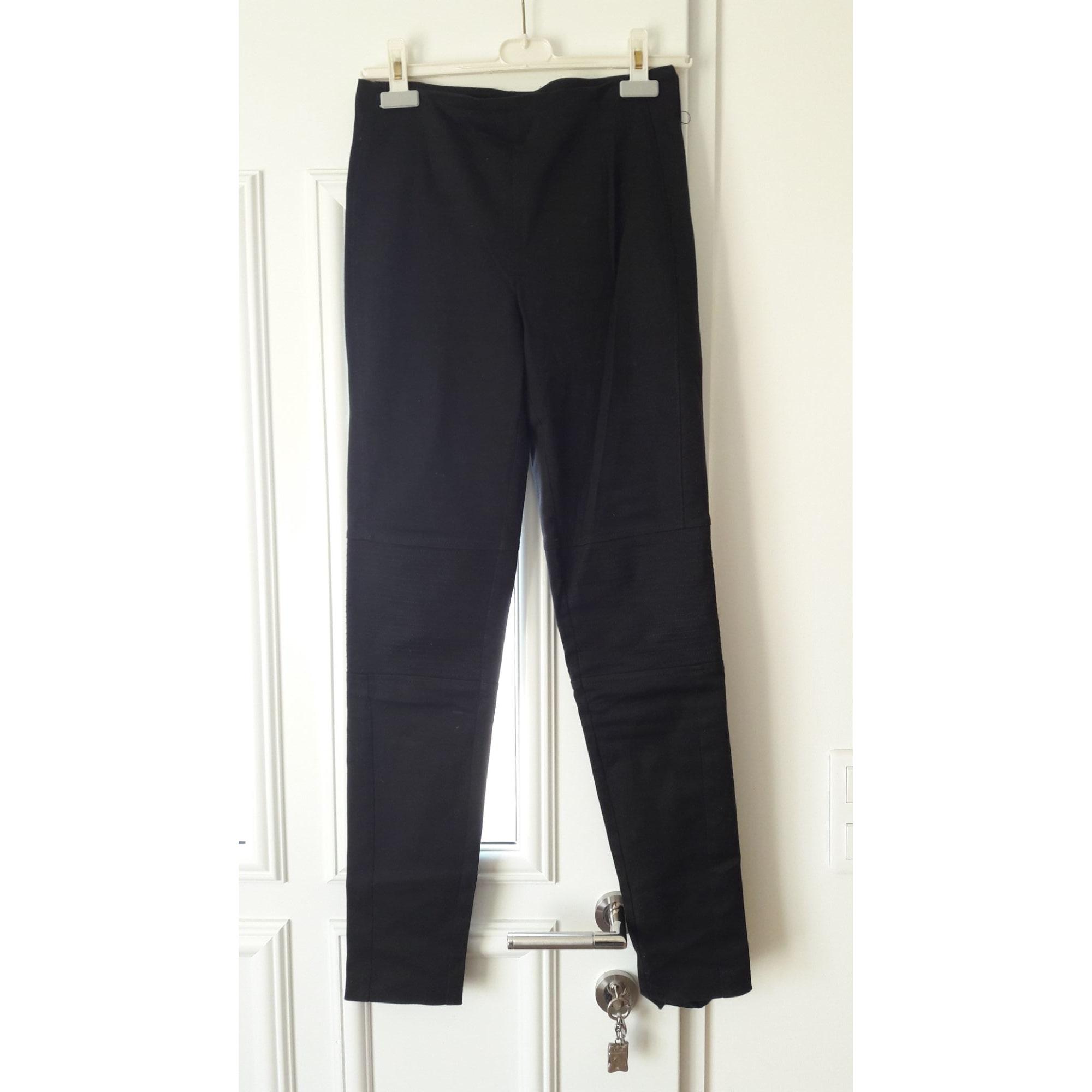 Pantalon slim, cigarette 1.2.3 Noir