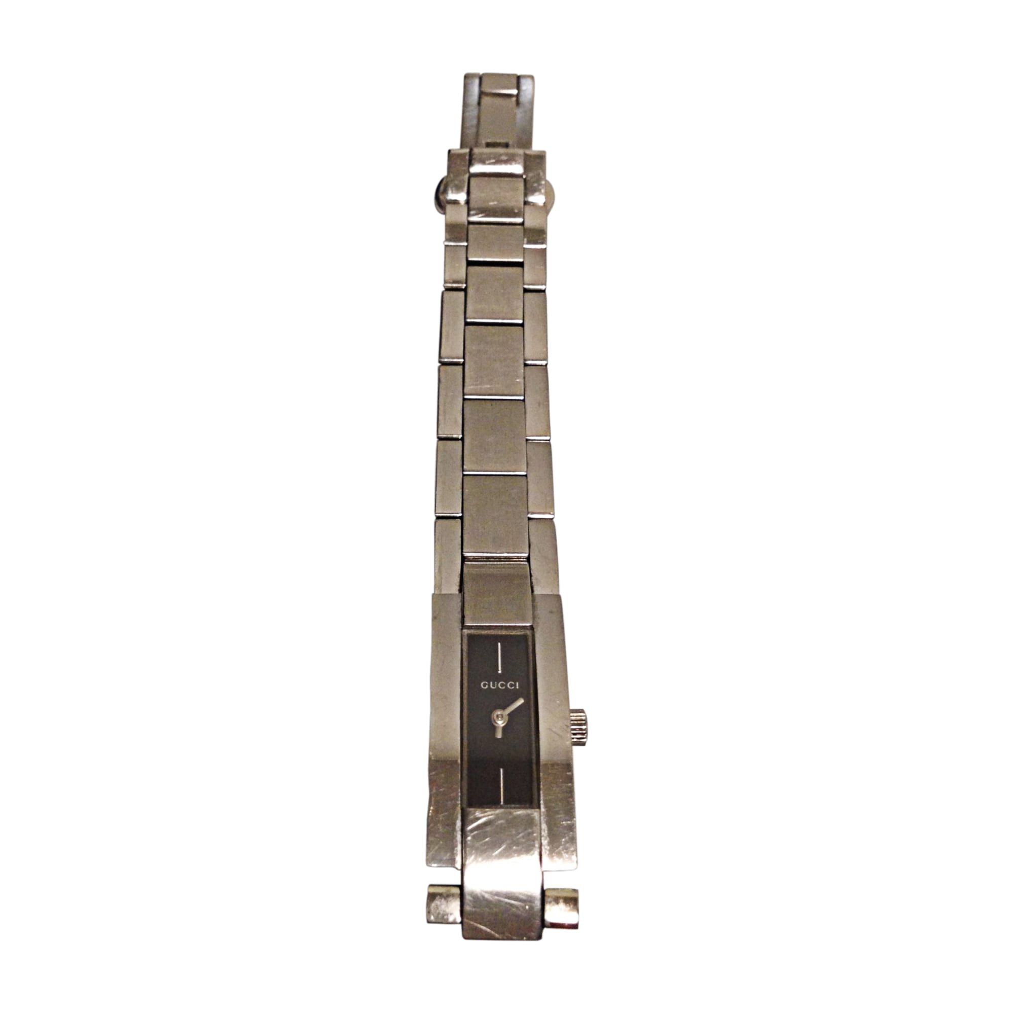 Armbanduhr GUCCI Silberfarben, stahlfarben