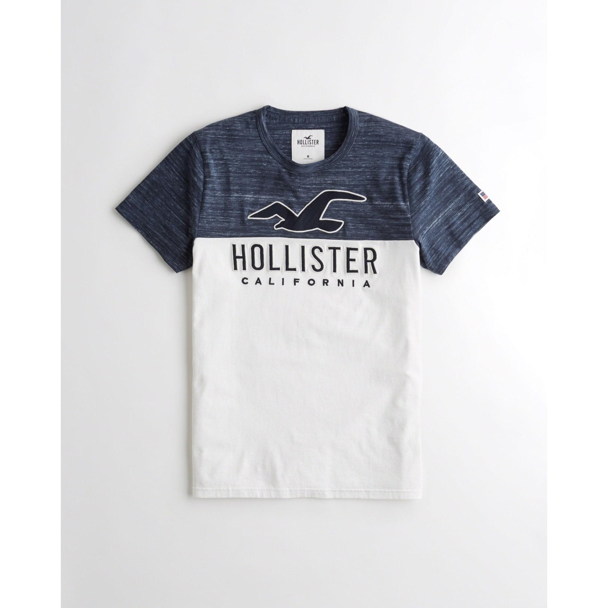 t shirt homme hollister
