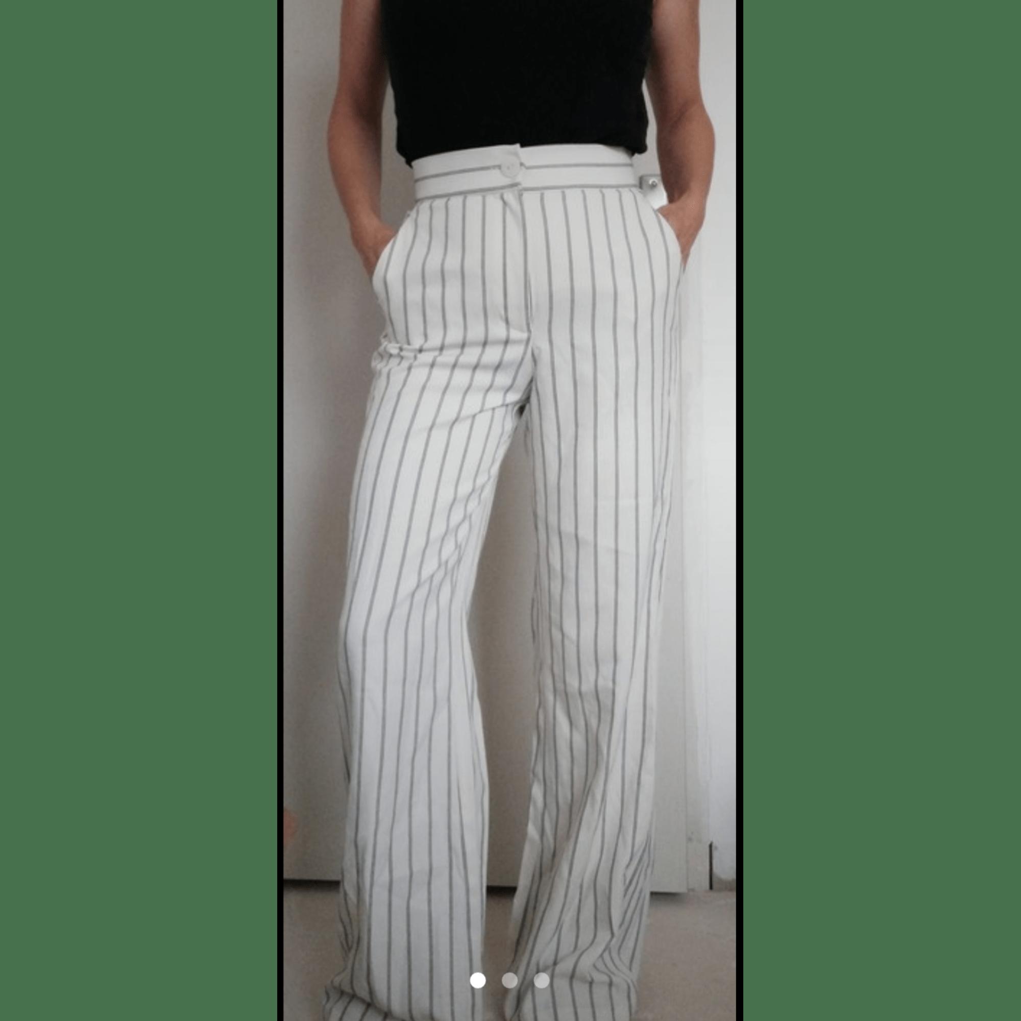 pantalon femme zara blanc