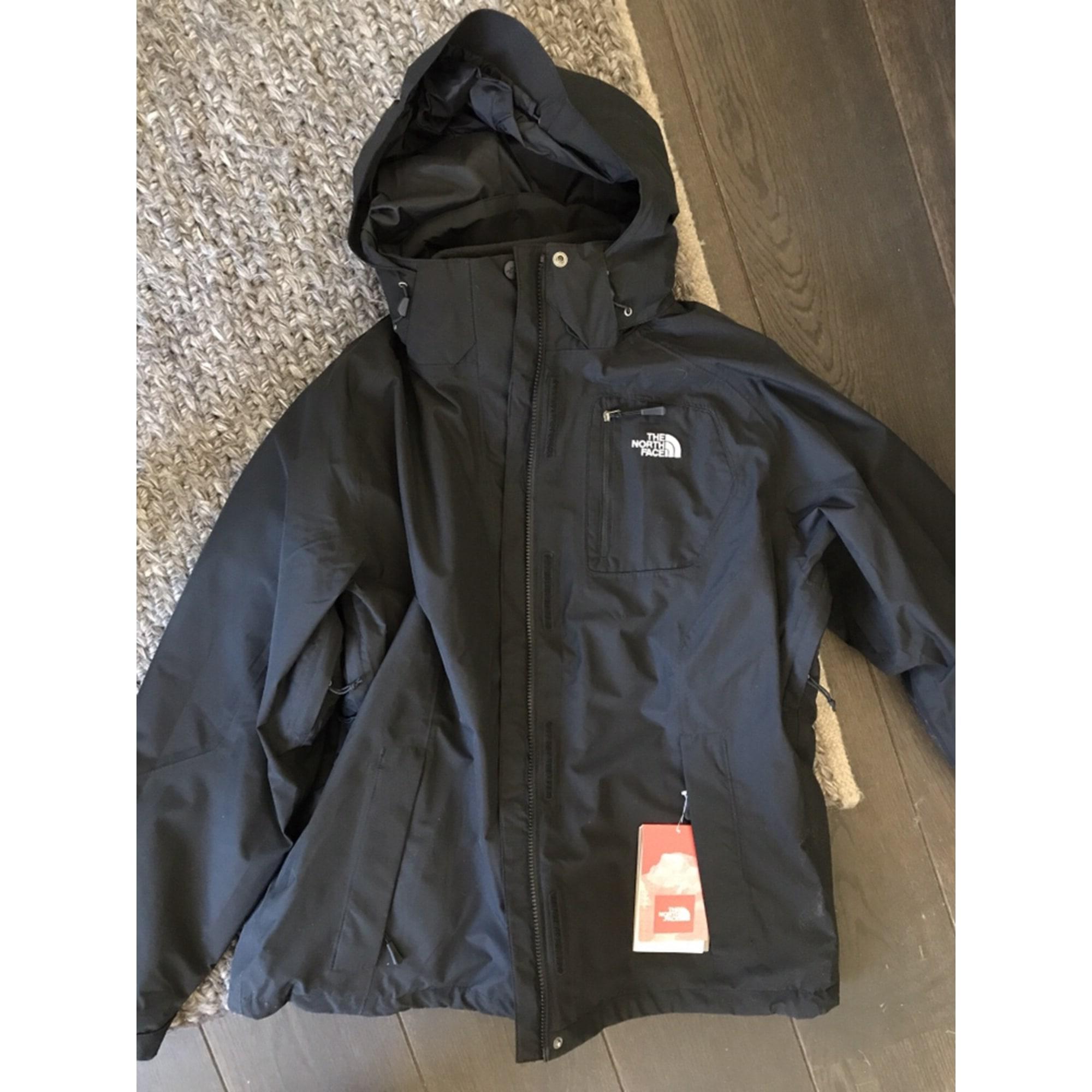 The North Face Homme blouson Neuf veste imperméable Noir Taille XL