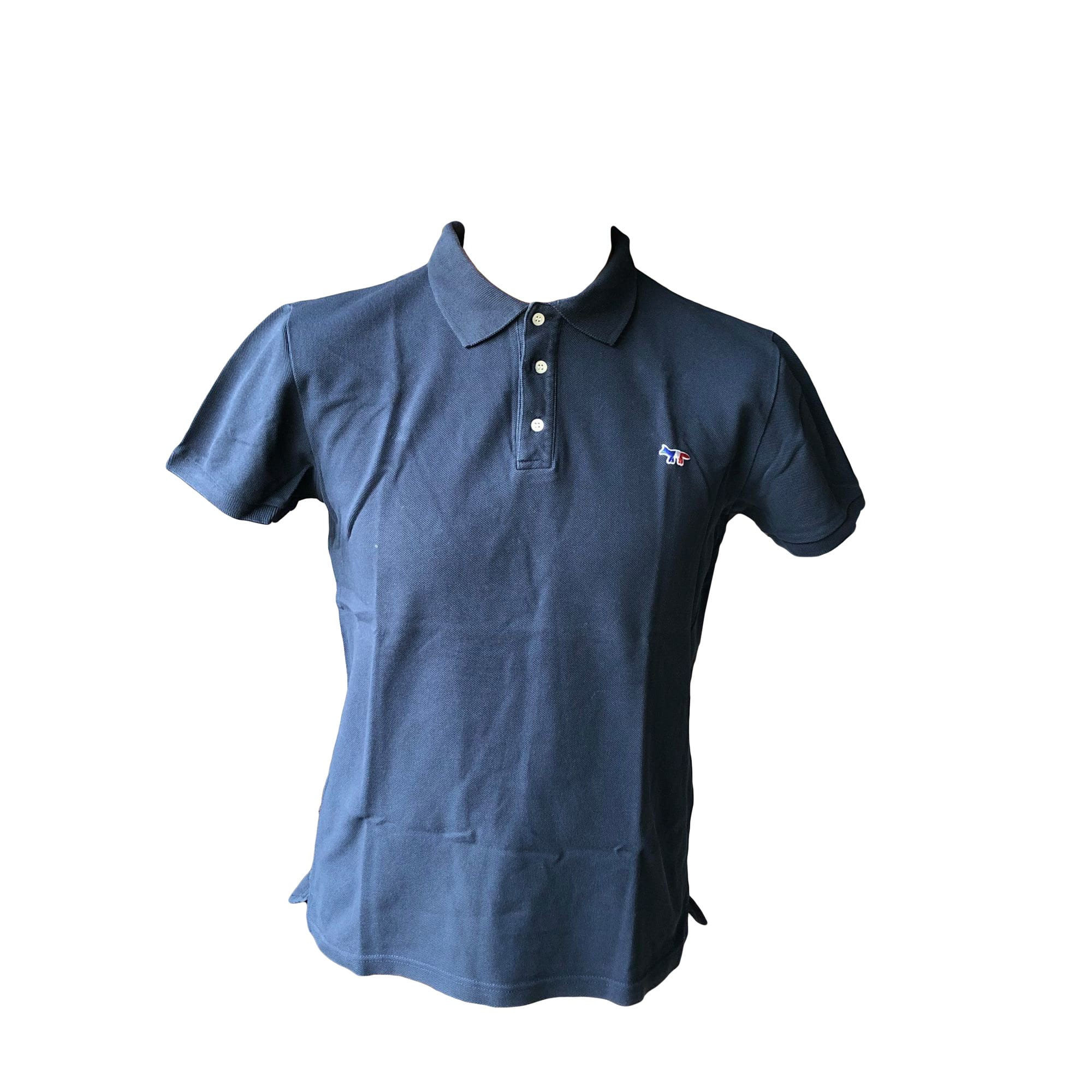 Tee-shirt MAISON KITSUNÉ Bleu, bleu marine, bleu turquoise