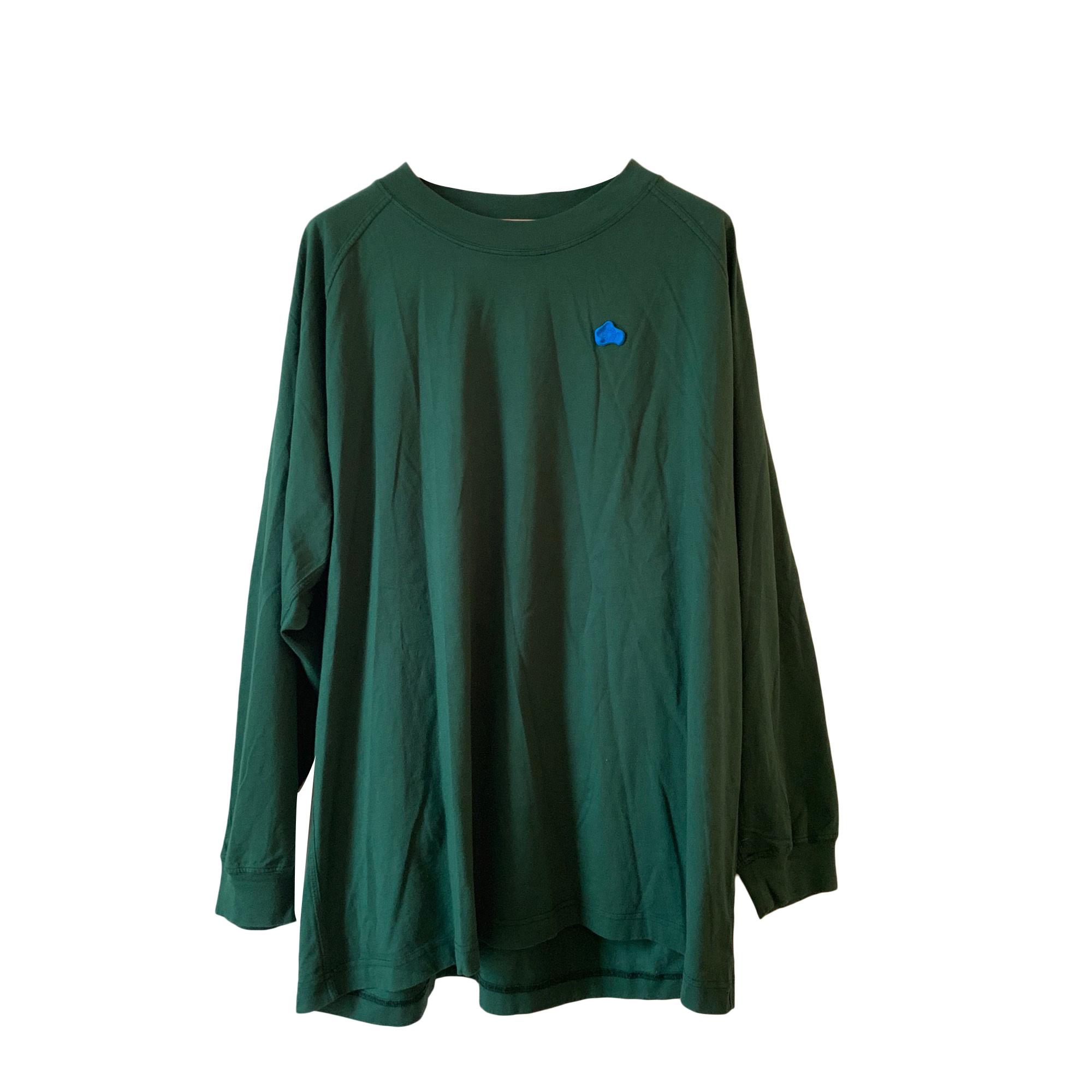 Tee-shirt ACNE Vert