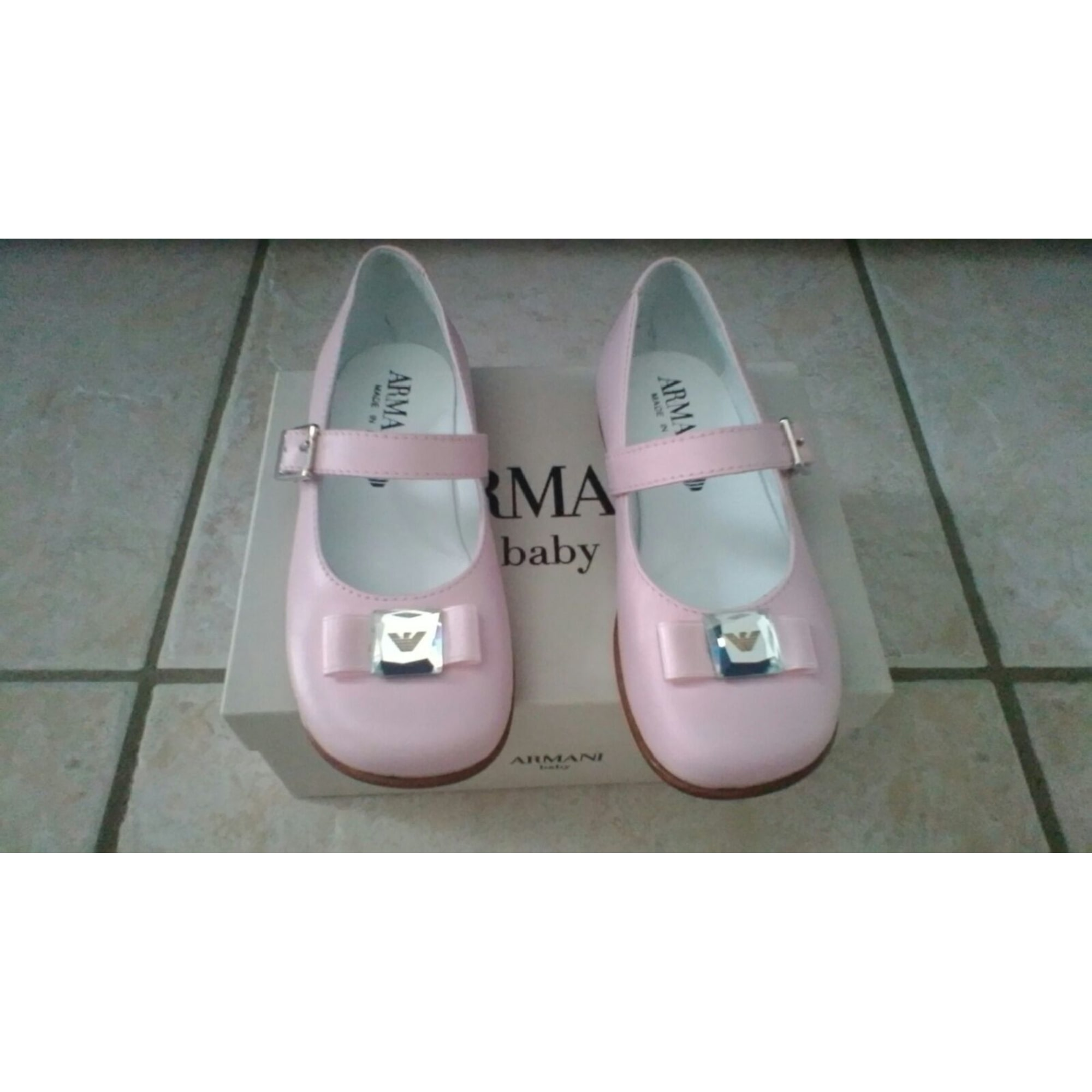 Ballet Flats ARMANI Pink, fuchsia, light pink