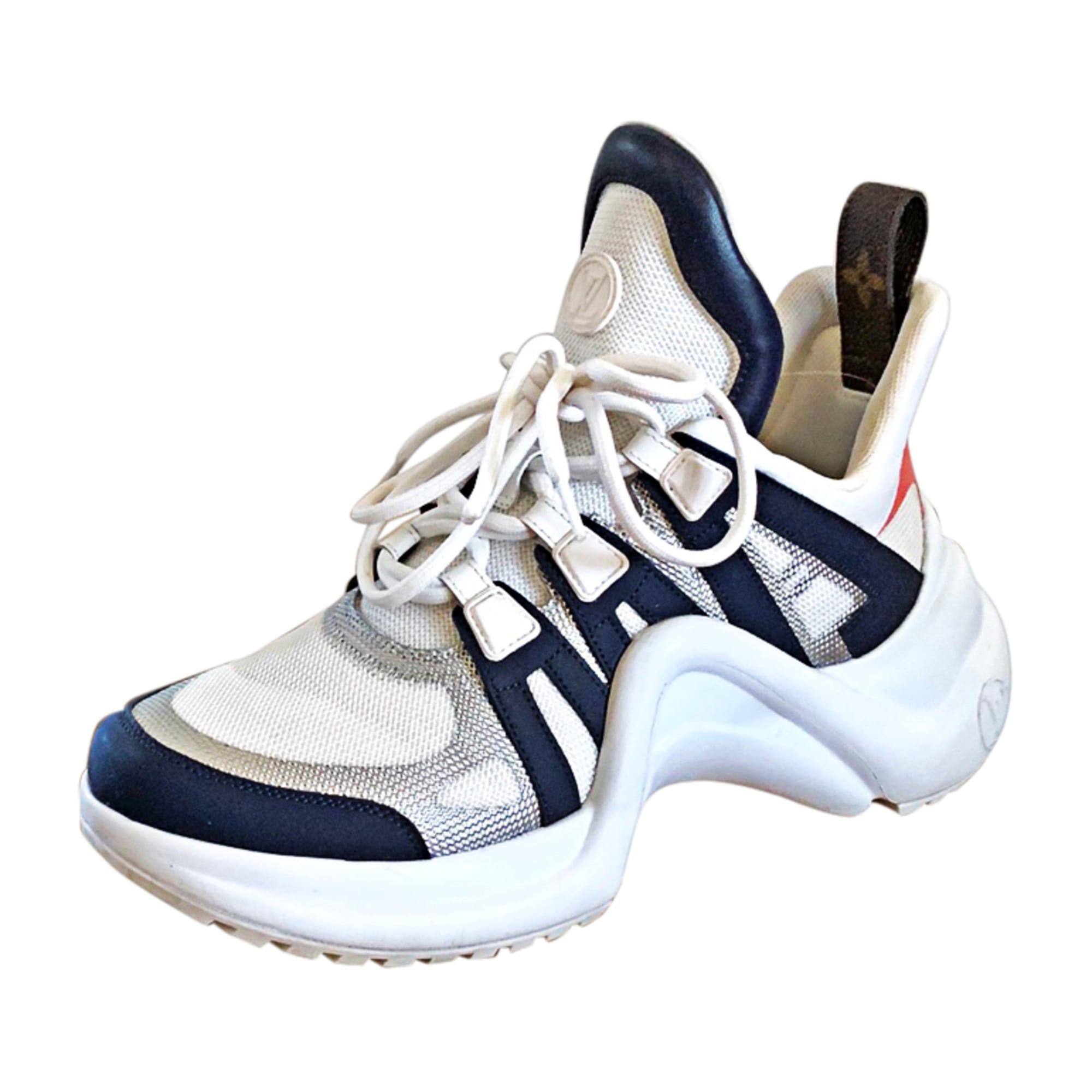Chaussures de sport LOUIS VUITTON Archlight Blanc, blanc cassé, écru