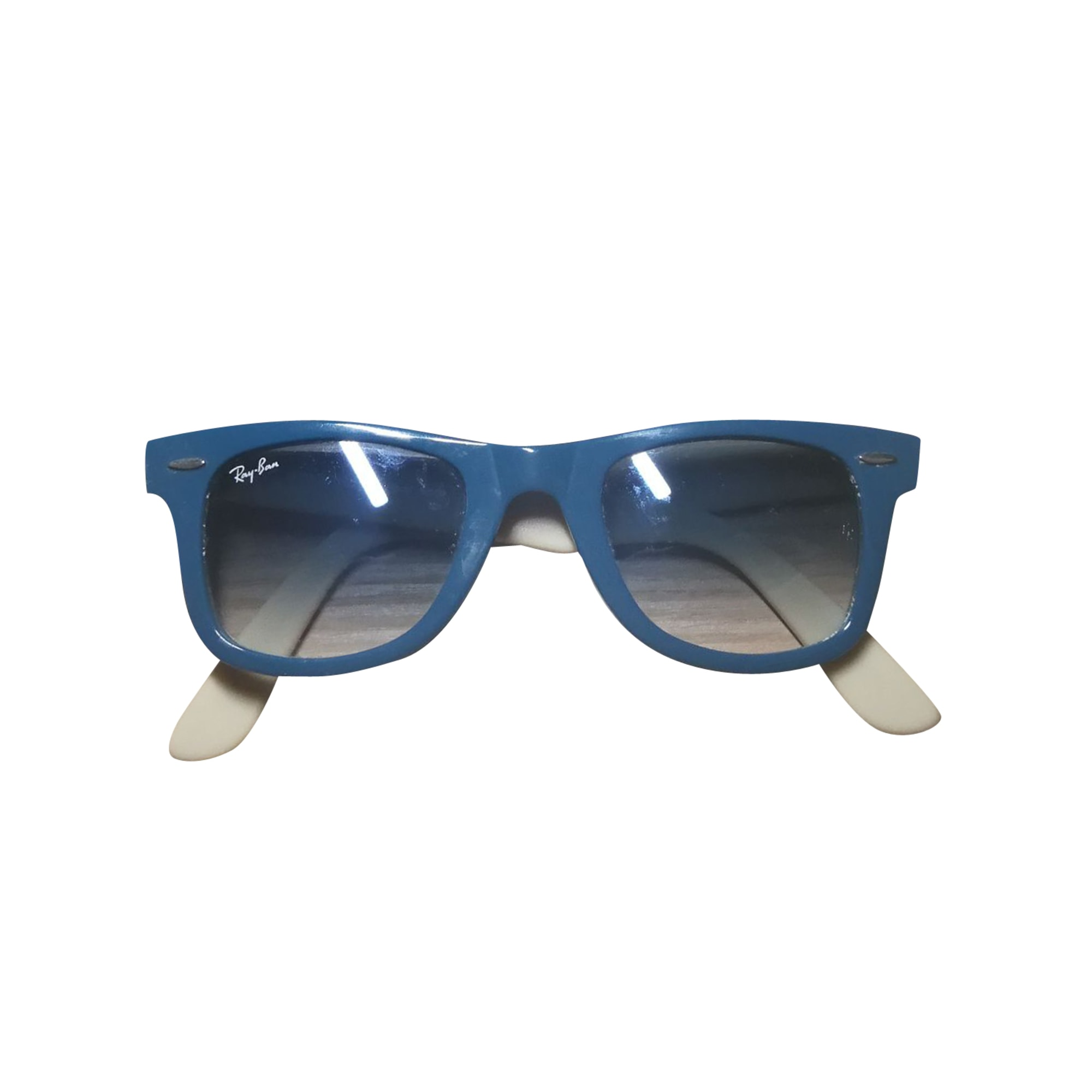 ray ban solaire homme bleu