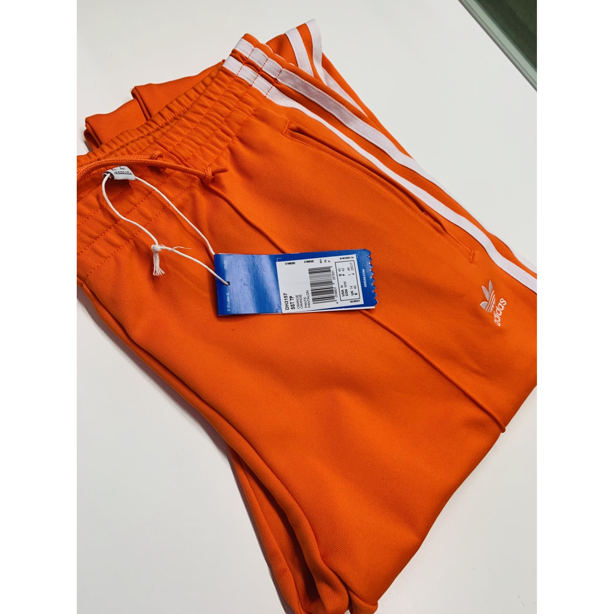 adidas ensemble homme orange