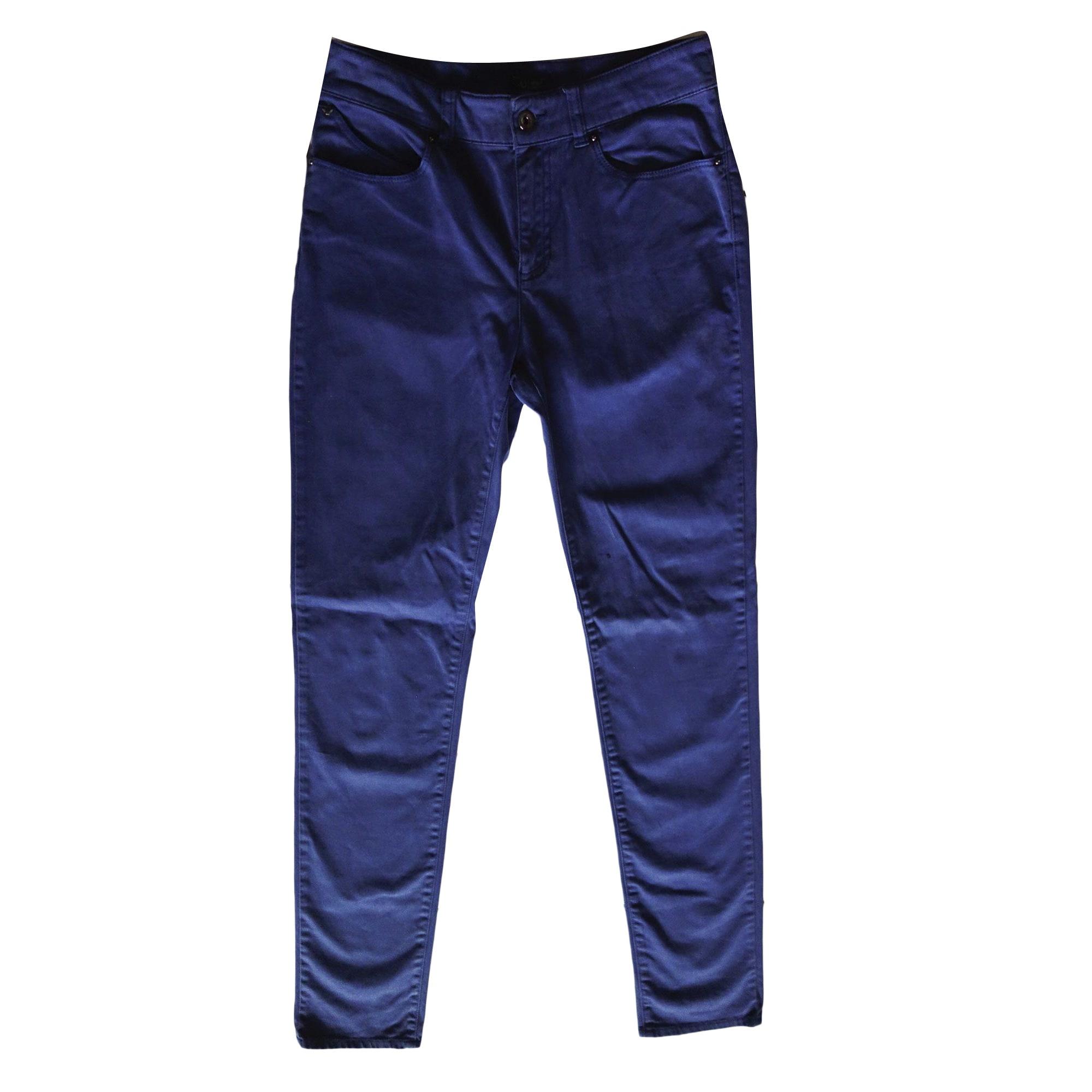 Jeans slim ARMANI JEANS Bleu, bleu marine, bleu turquoise