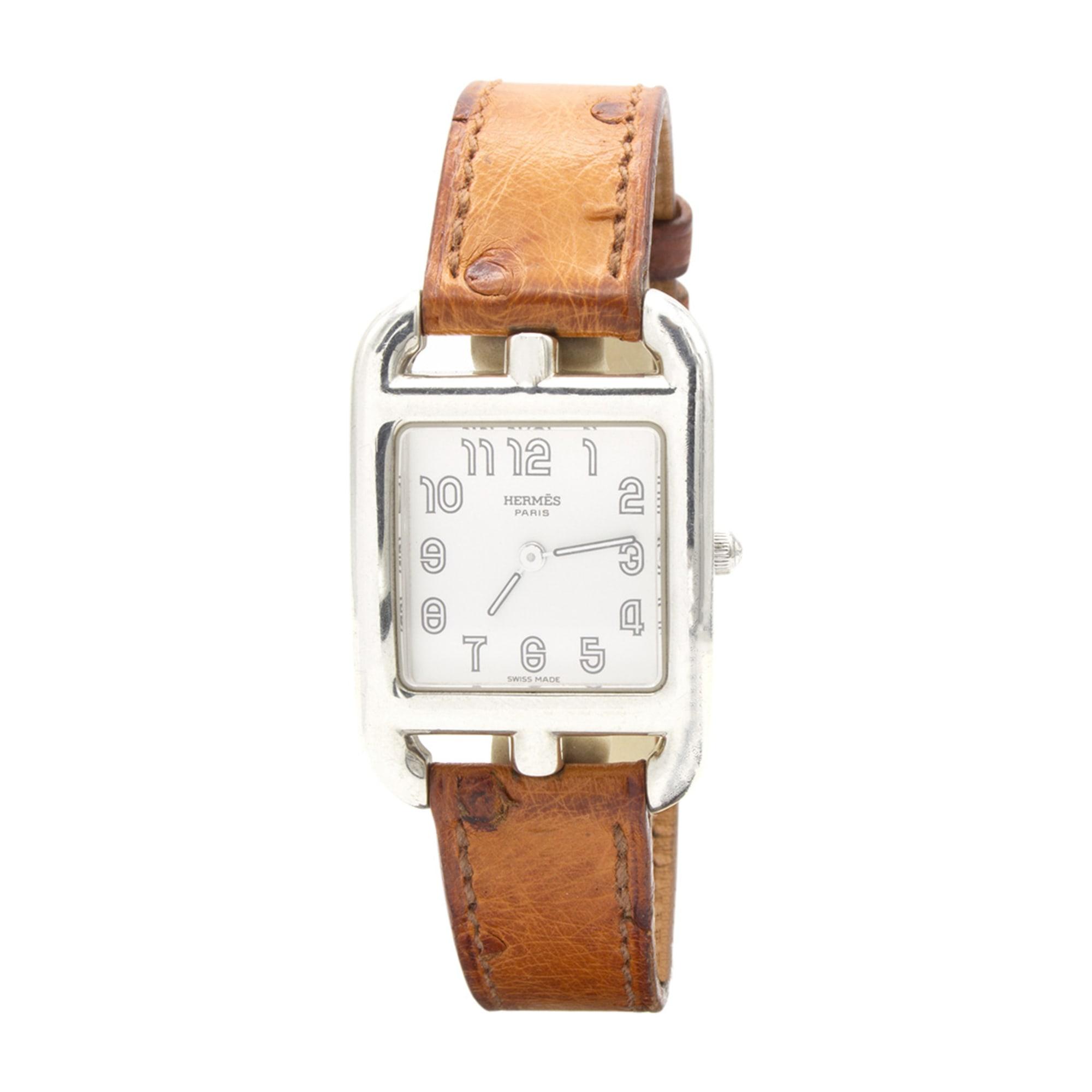 Wrist Watch HERMÈS Cape Cod Silver