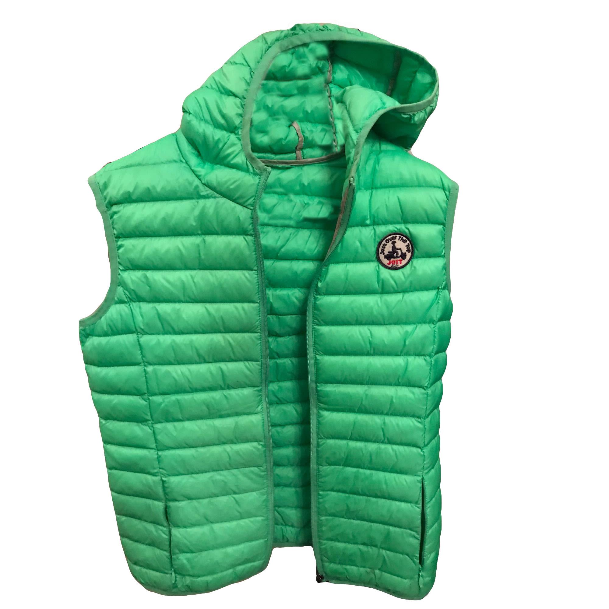 Down Jacket JOTT Green
