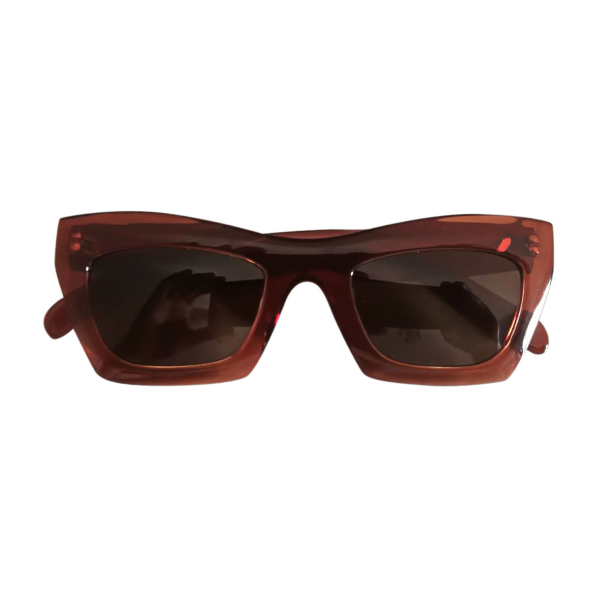Sunglasses CÉLINE Golden, bronze, copper