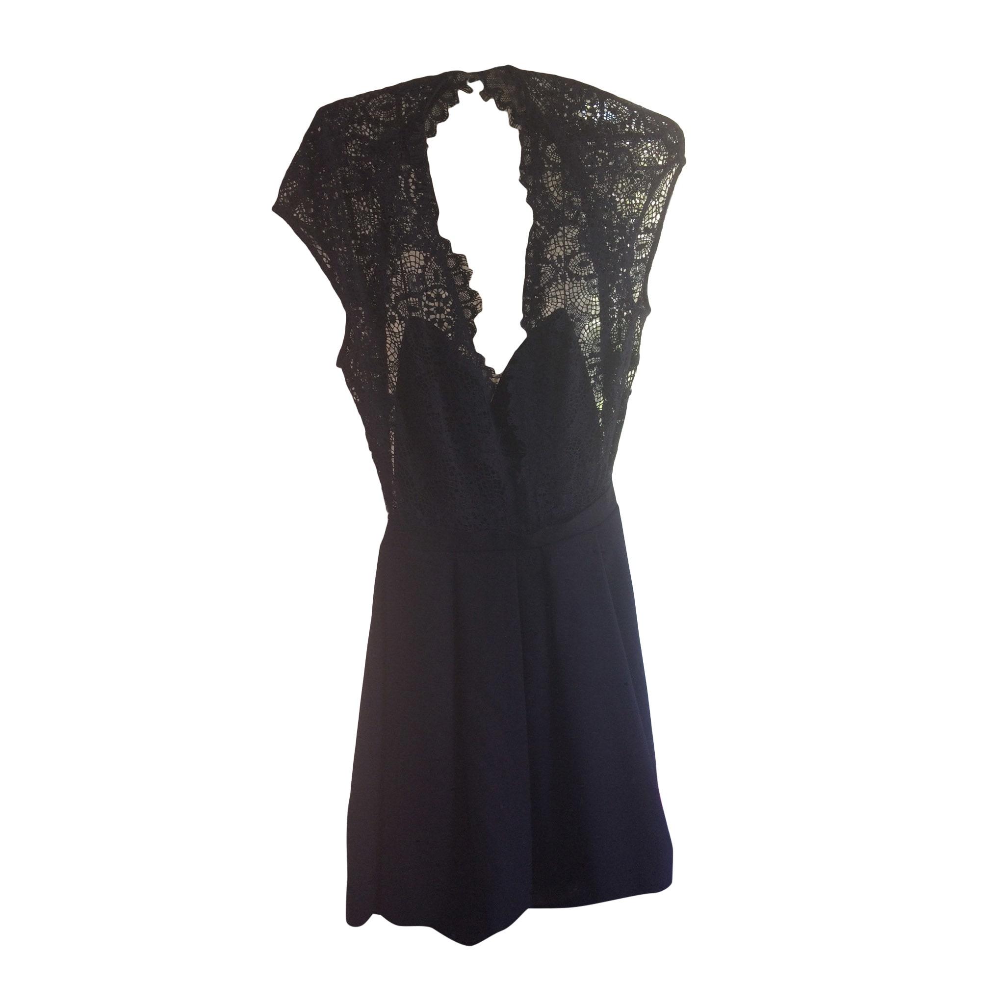 Backless Dress BA&SH Black