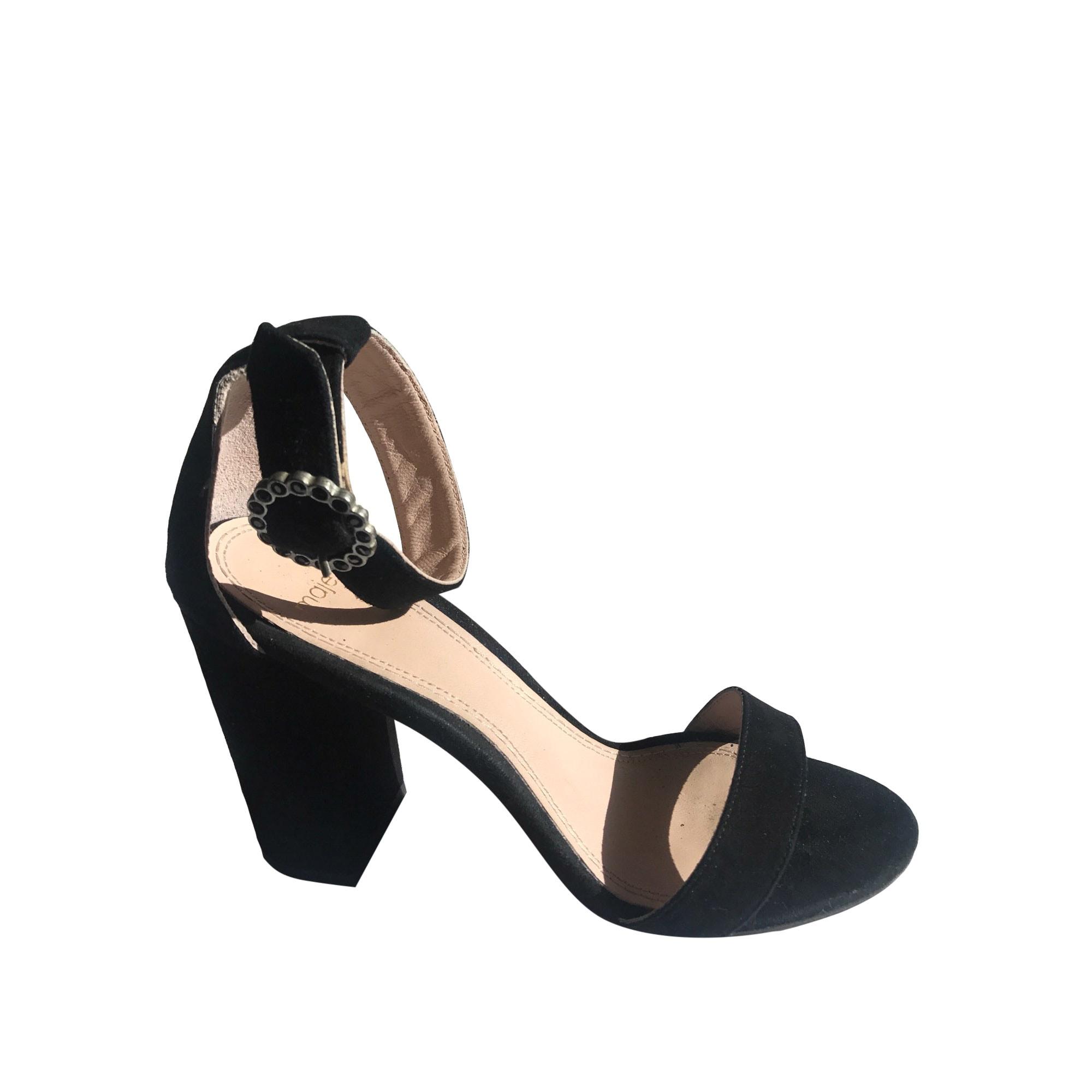 Sandales à talons MAJE Noir