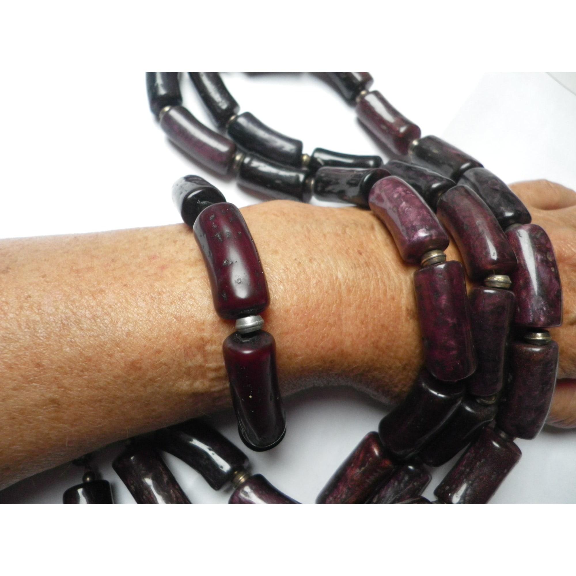 Bracelet DOMINIQUE DENAIVE résine marron