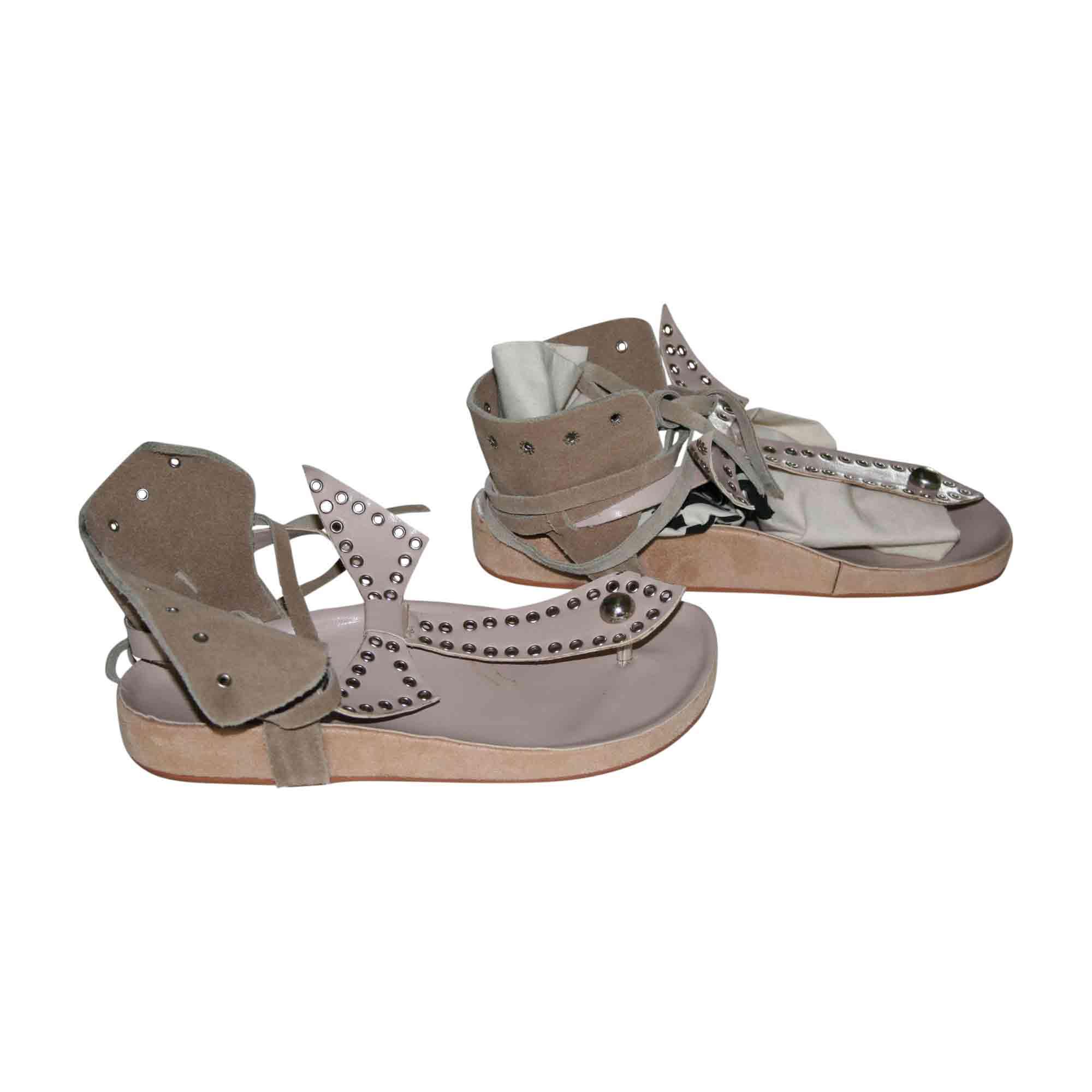 Flat Sandals ISABEL MARANT Beige, camel