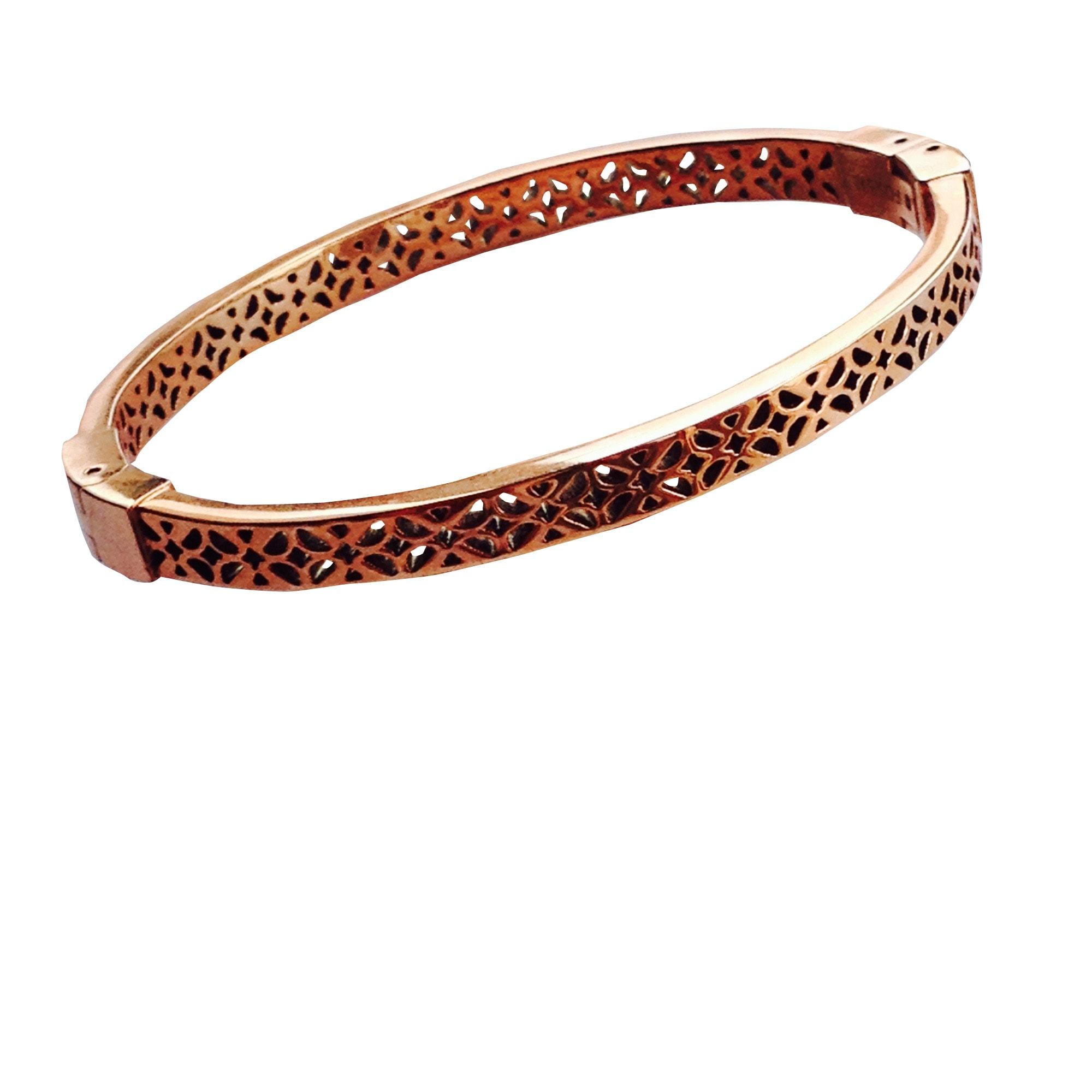 Bracelet FOSSIL Doré, bronze, cuivre
