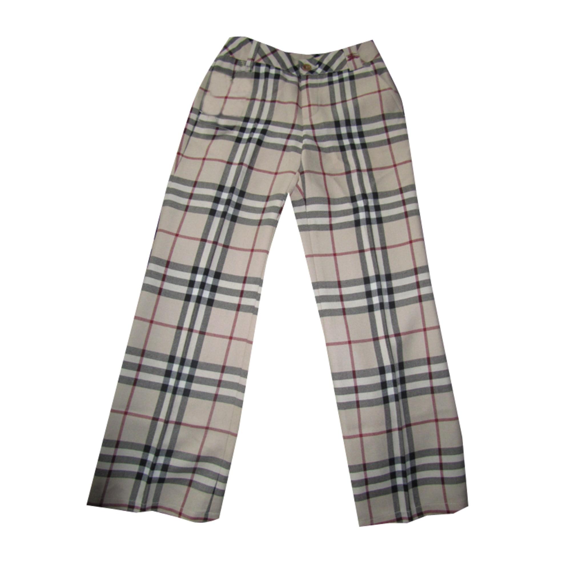 pantalon homme burberry