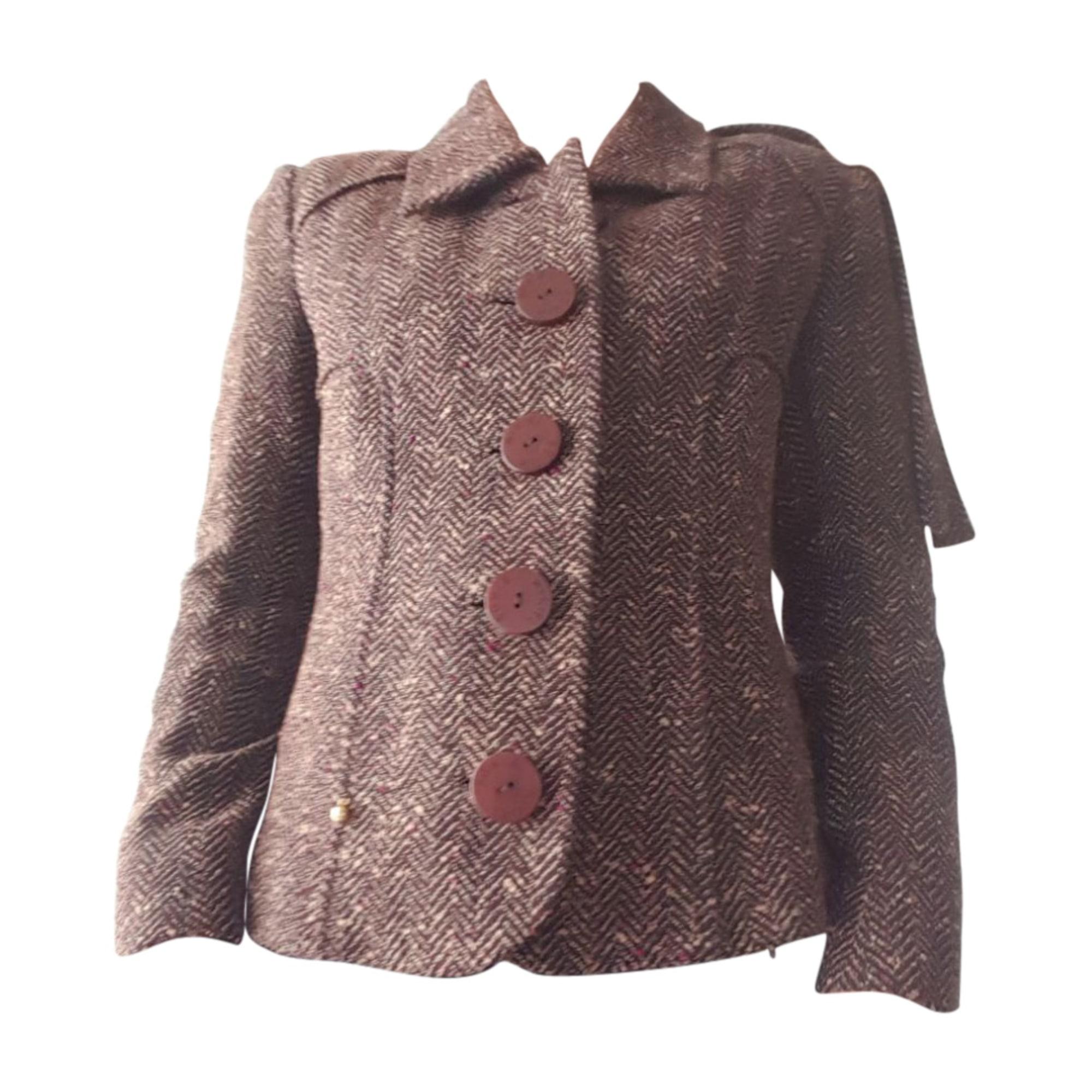 Coat SONIA RYKIEL Brown