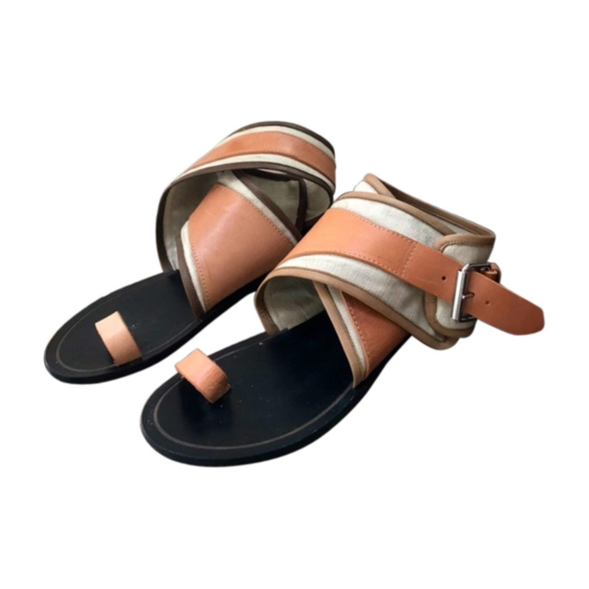 Flat Sandals ISABEL MARANT Willow Beige, camel