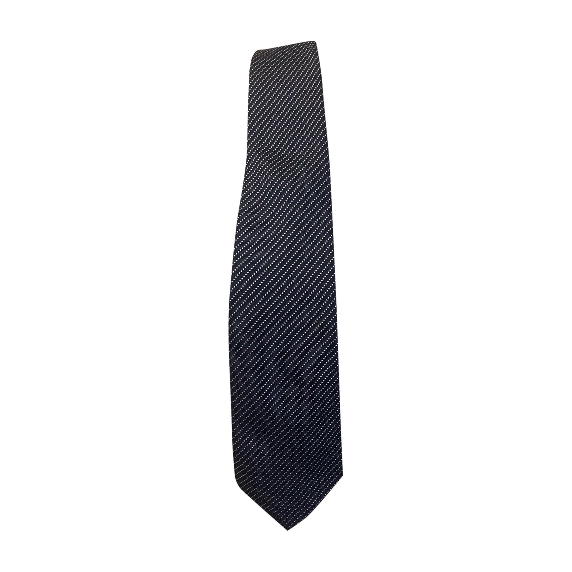 Cravatta HERMÈS Blu, blu navy, turchese