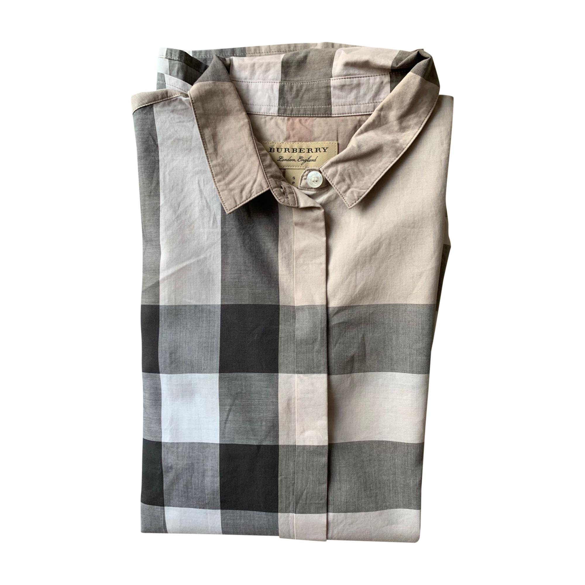 Shirt BURBERRY Gray, charcoal