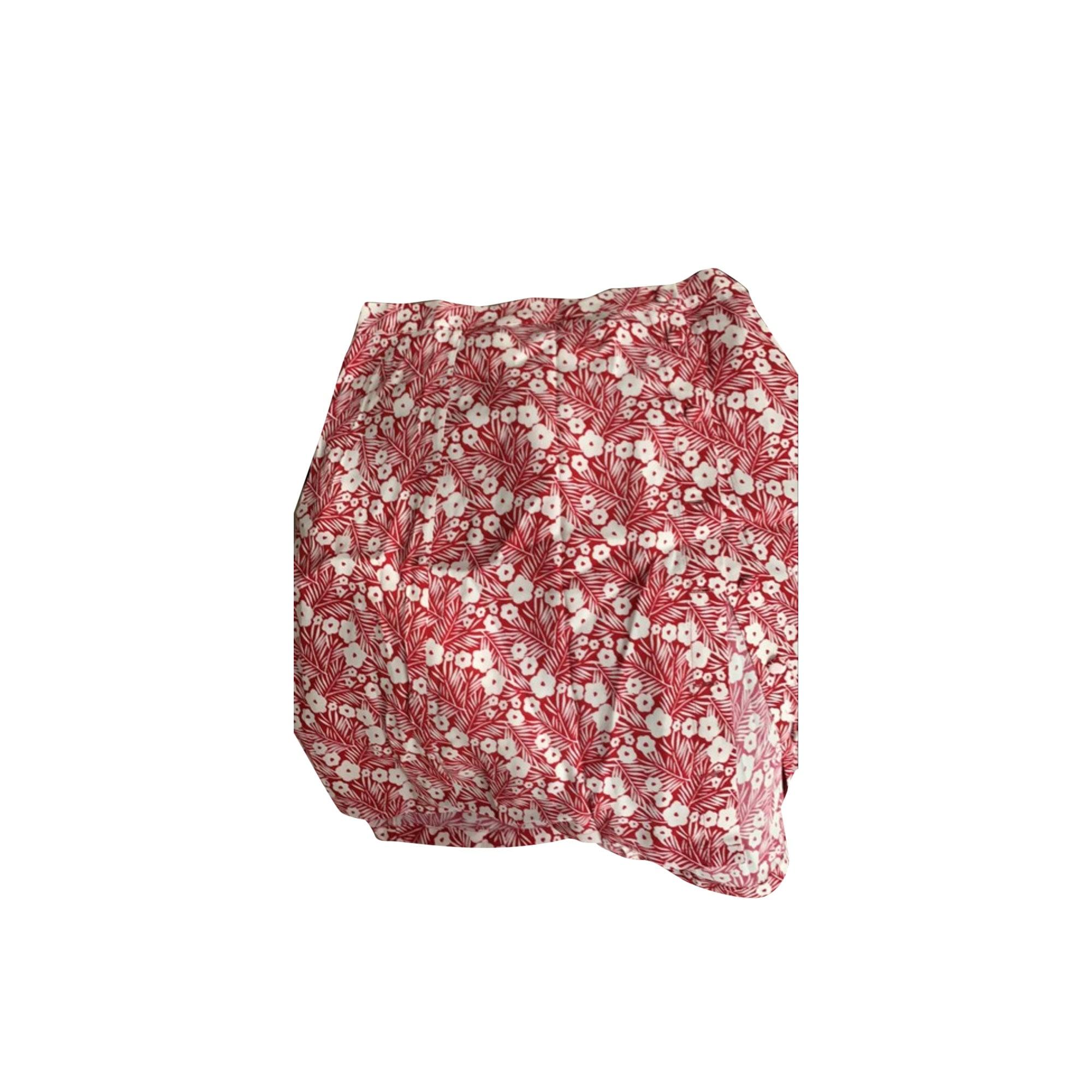 Midi Skirt DES PETITS HAUTS Red, burgundy