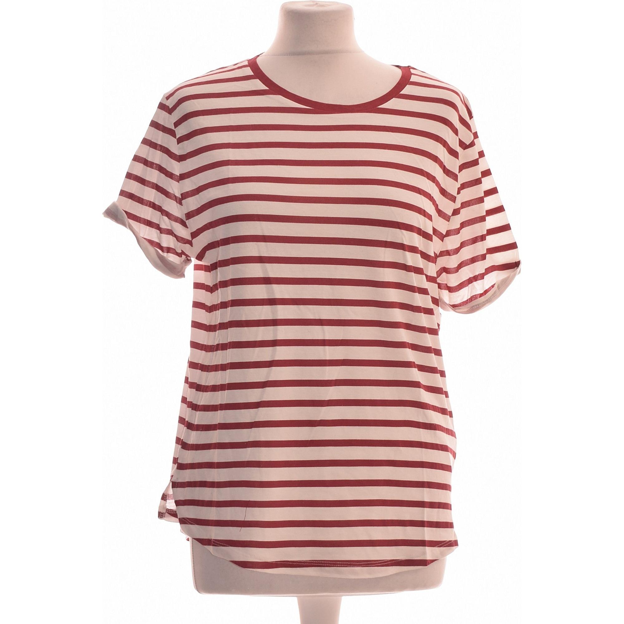 Top, tee-shirt ELEVEN PARIS Rouge, bordeaux