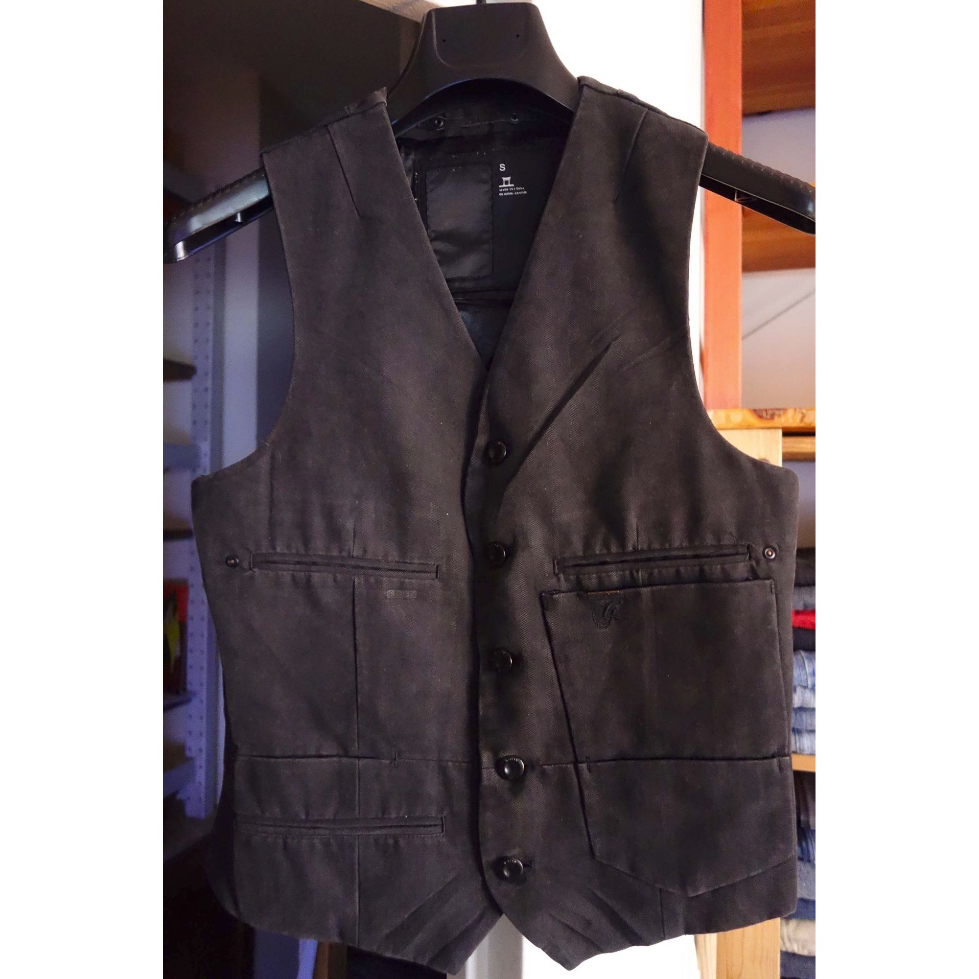 Gilet, cardigan G-STAR Marron