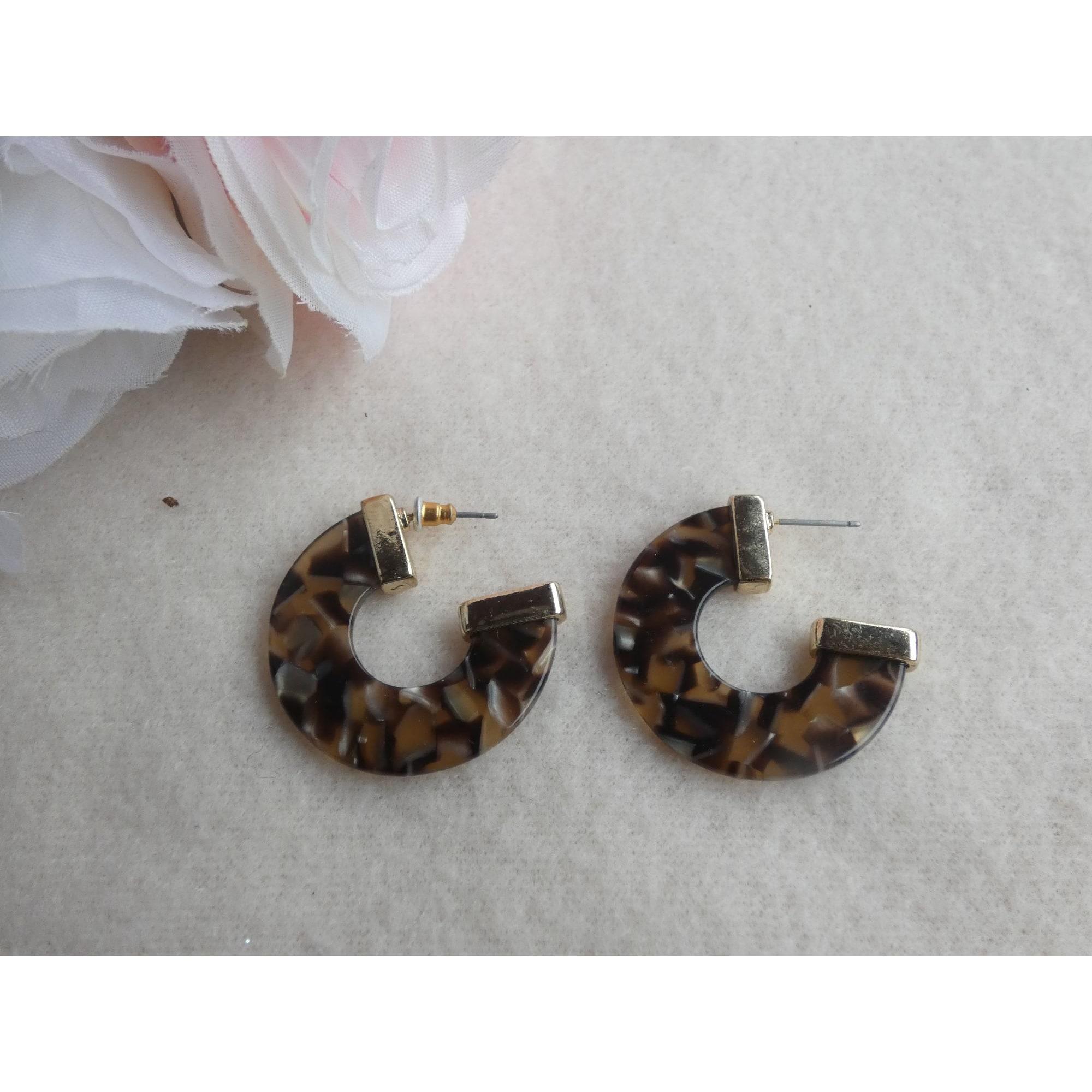 Boucles d'oreille FANTAISIE Imprimés animaliers