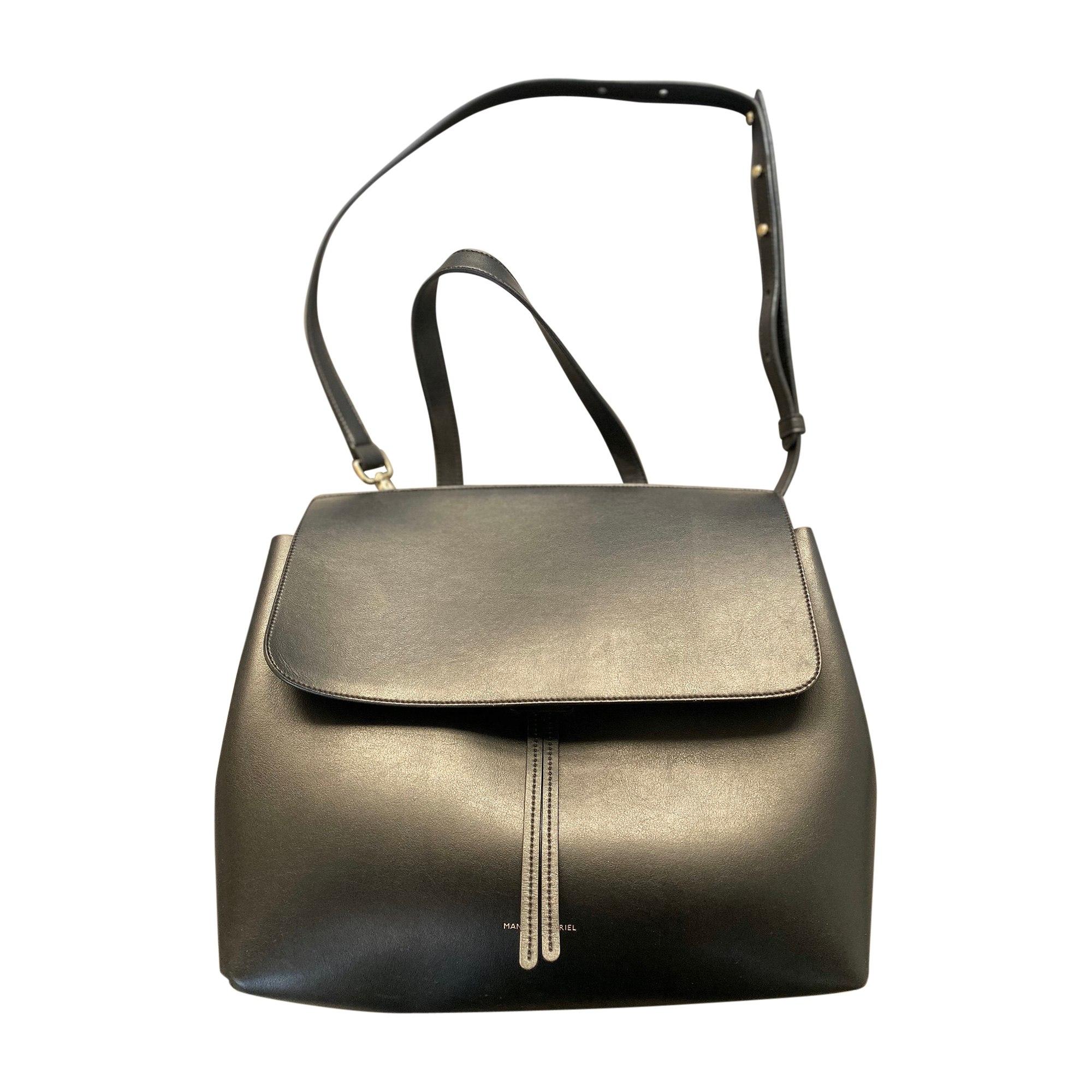 Leather Shoulder Bag MANSUR GAVRIEL Black