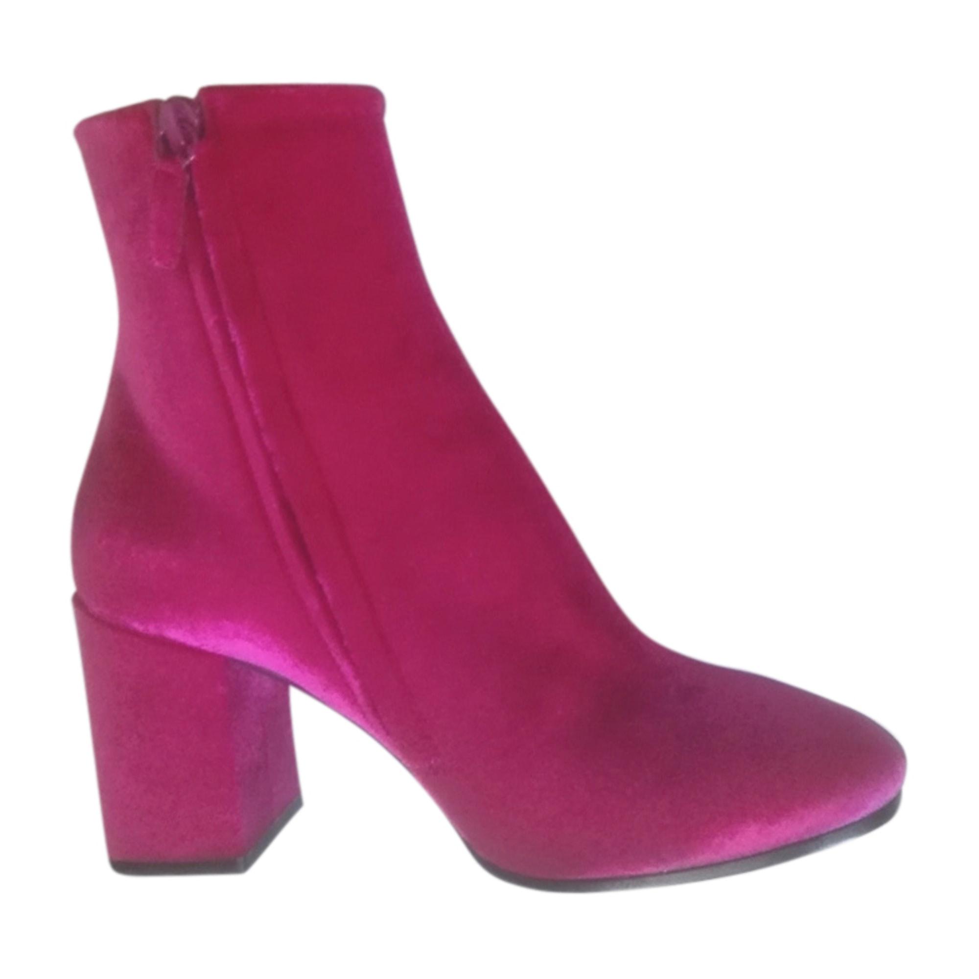 High Heel Ankle Boots BALENCIAGA Pink, fuchsia, light pink