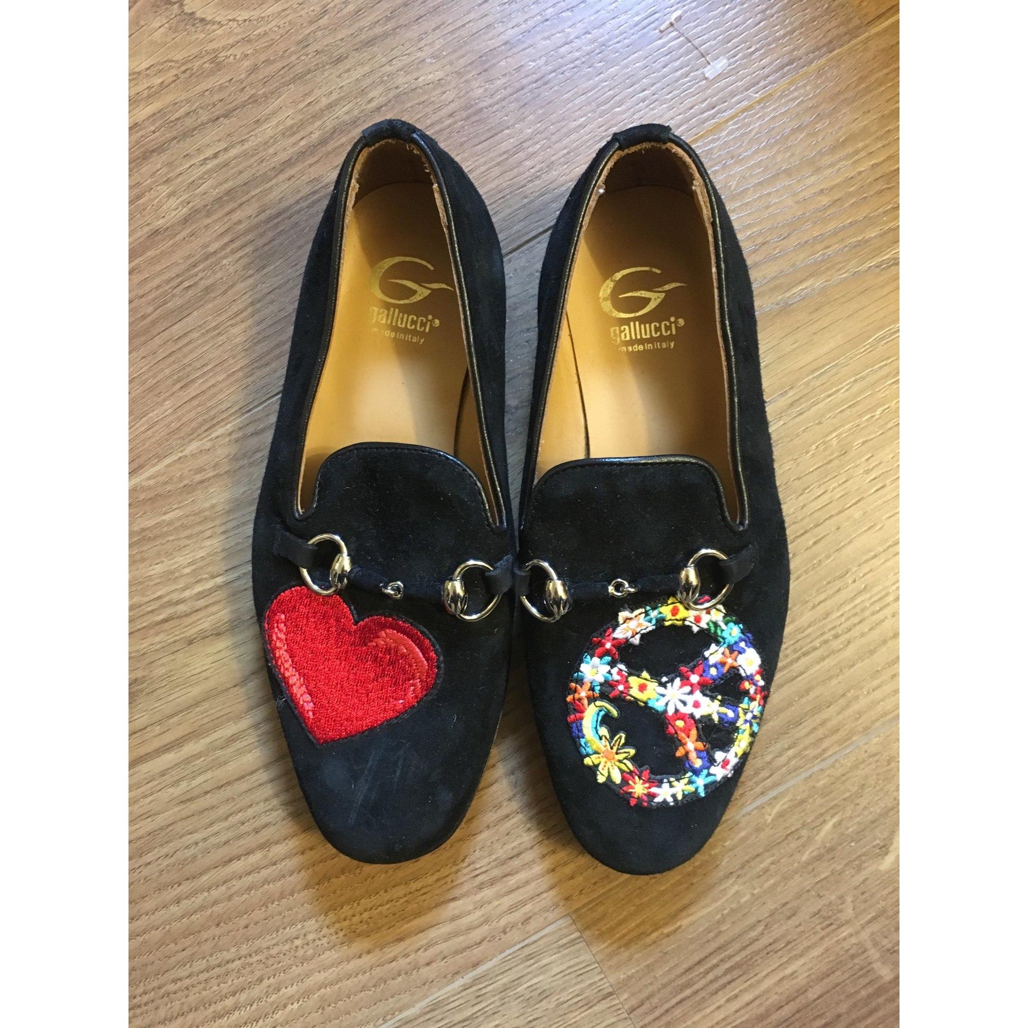 Loafers GALLUCCI Black