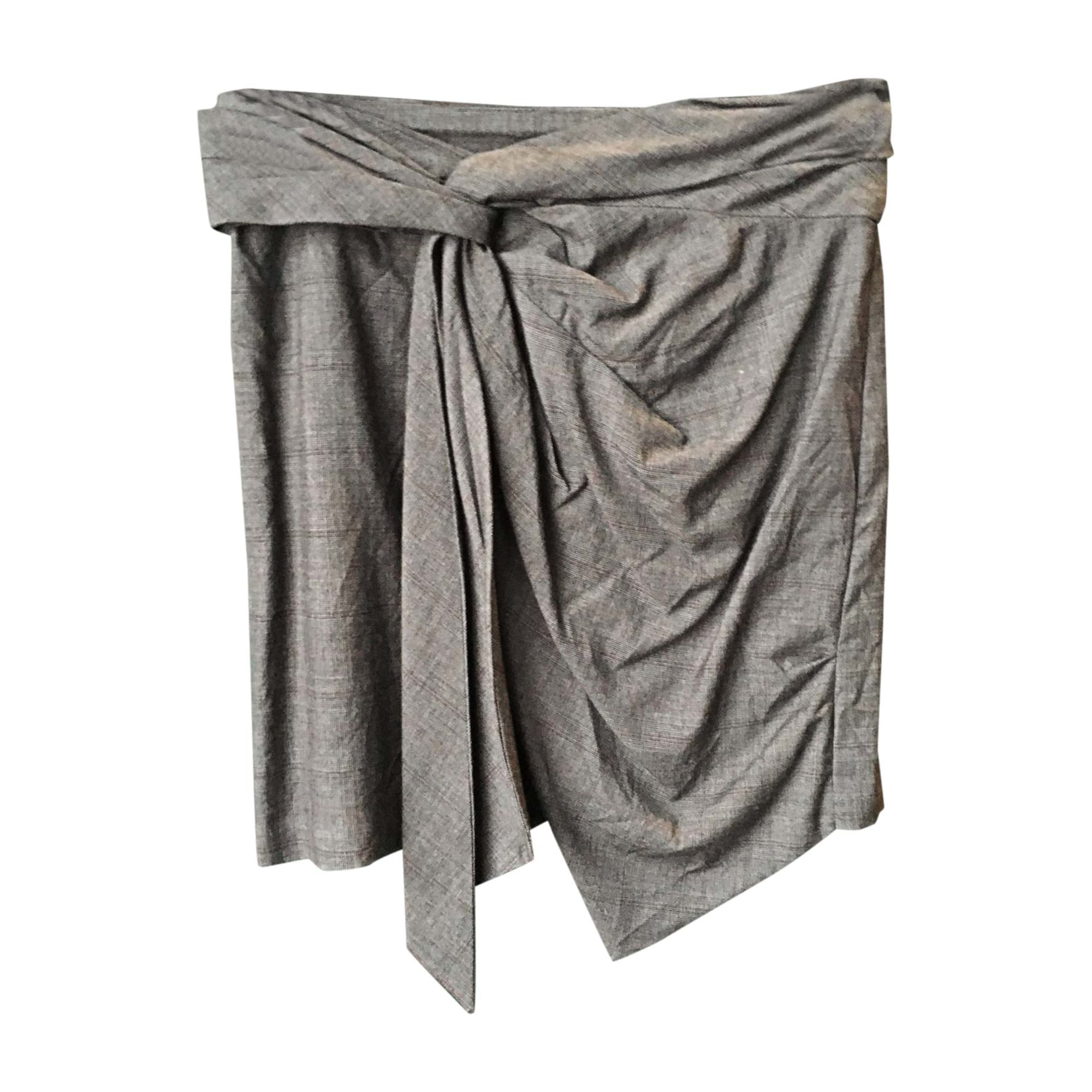 Minirock ISABEL MARANT Grau, anthrazit