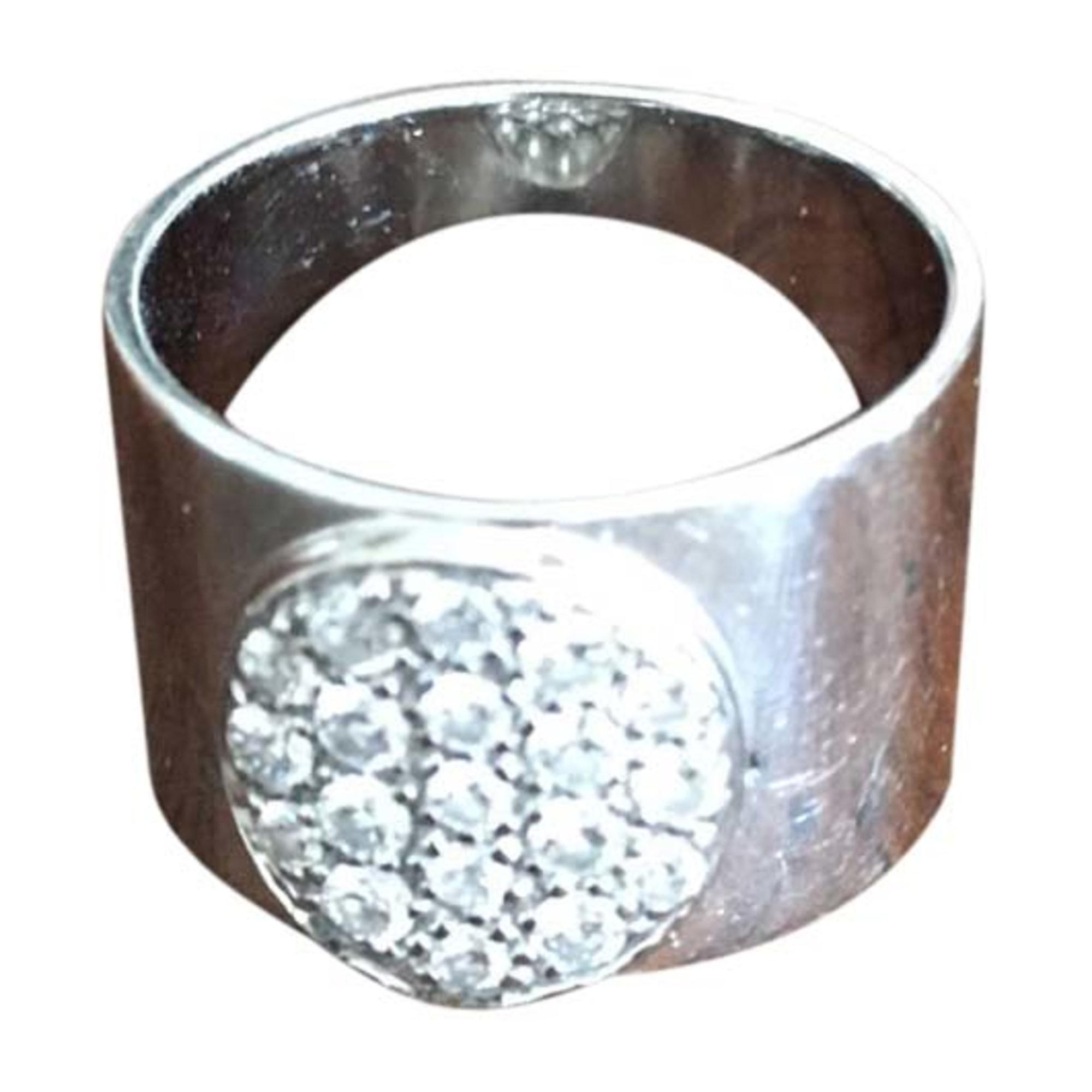 Anello DINH VAN Argentato, acciaio