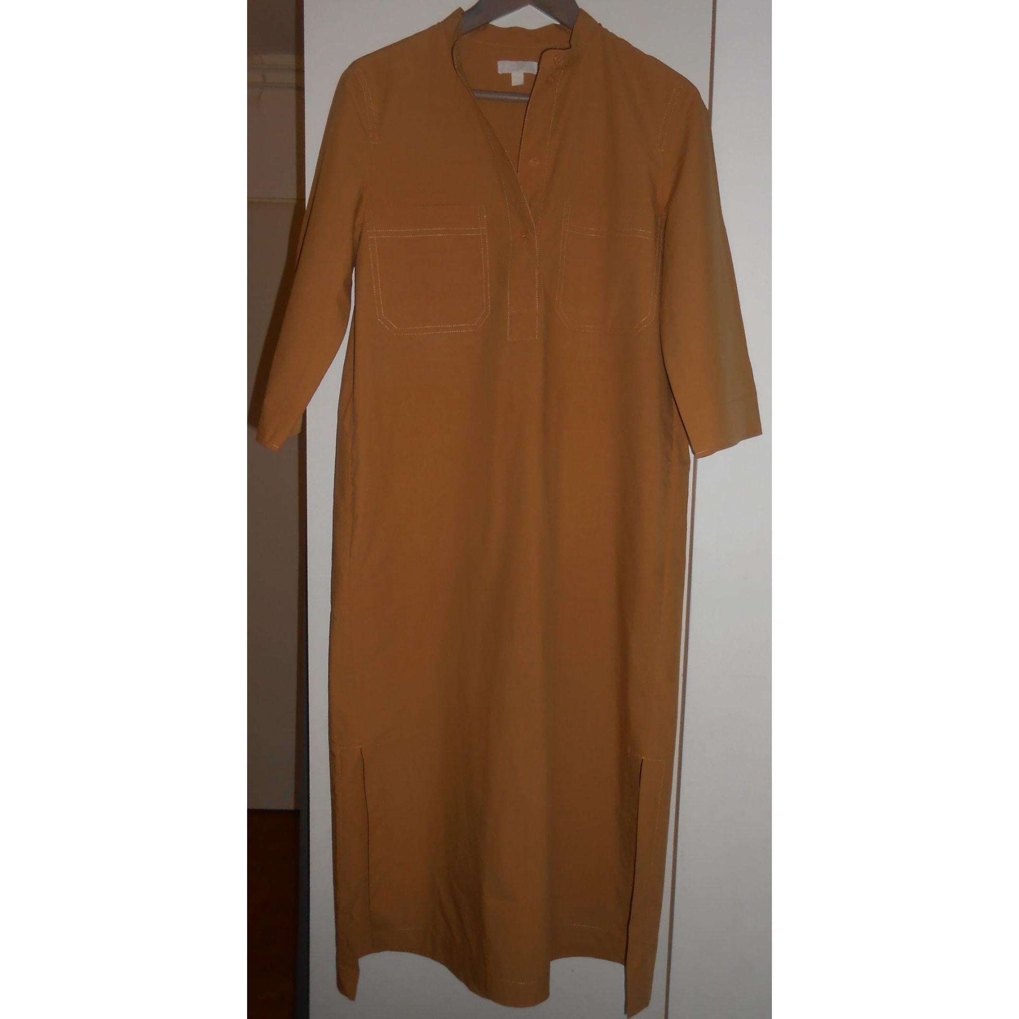 Robe longue COS Marron