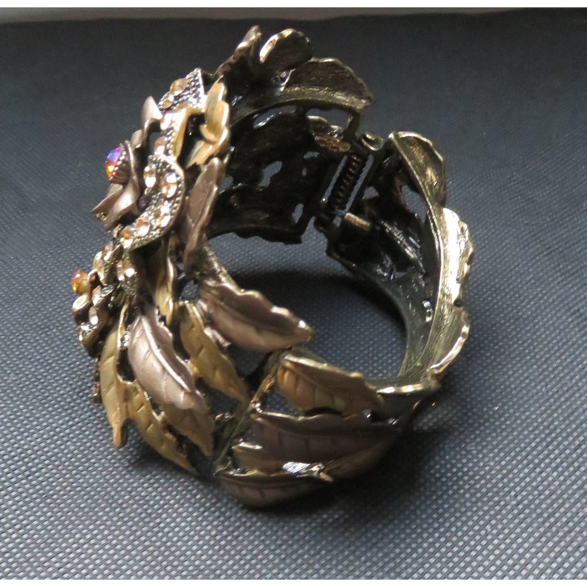 Bracelet TORRENTE bronze doré