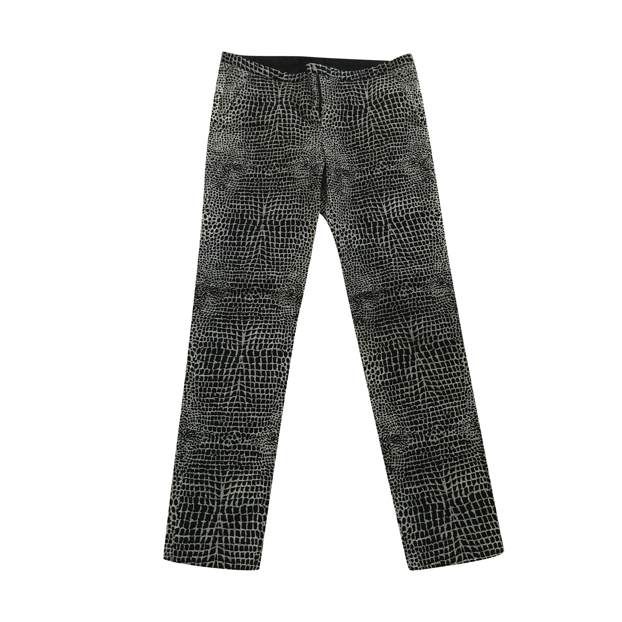 Pantalon slim, cigarette THE KOOPLES Noir