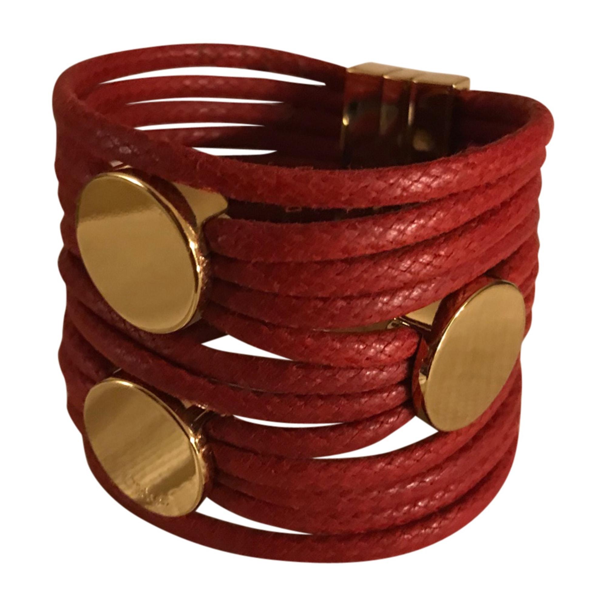 Bracelet CHLOÉ laiton rouge
