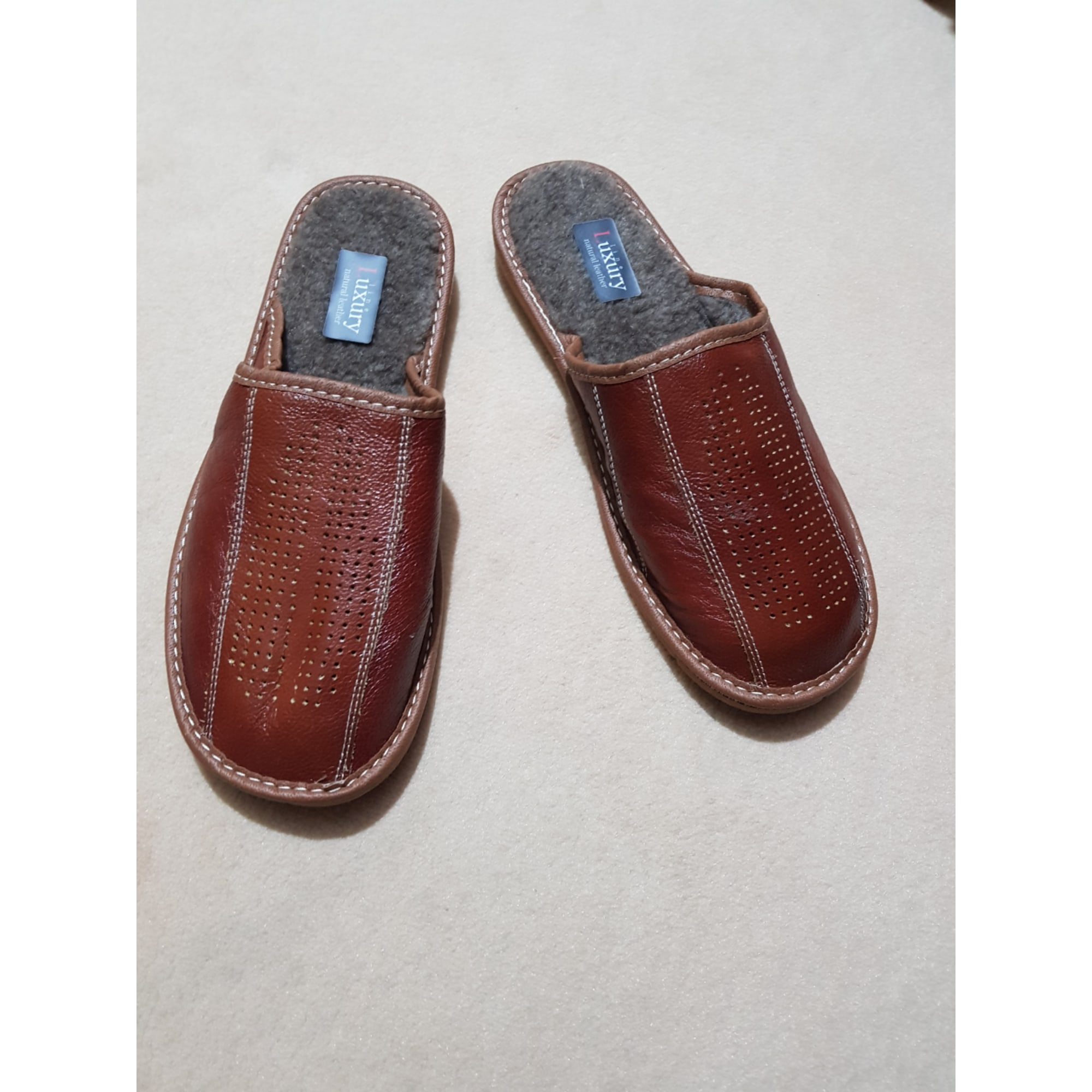 Slippers NATURAL LINE Brown