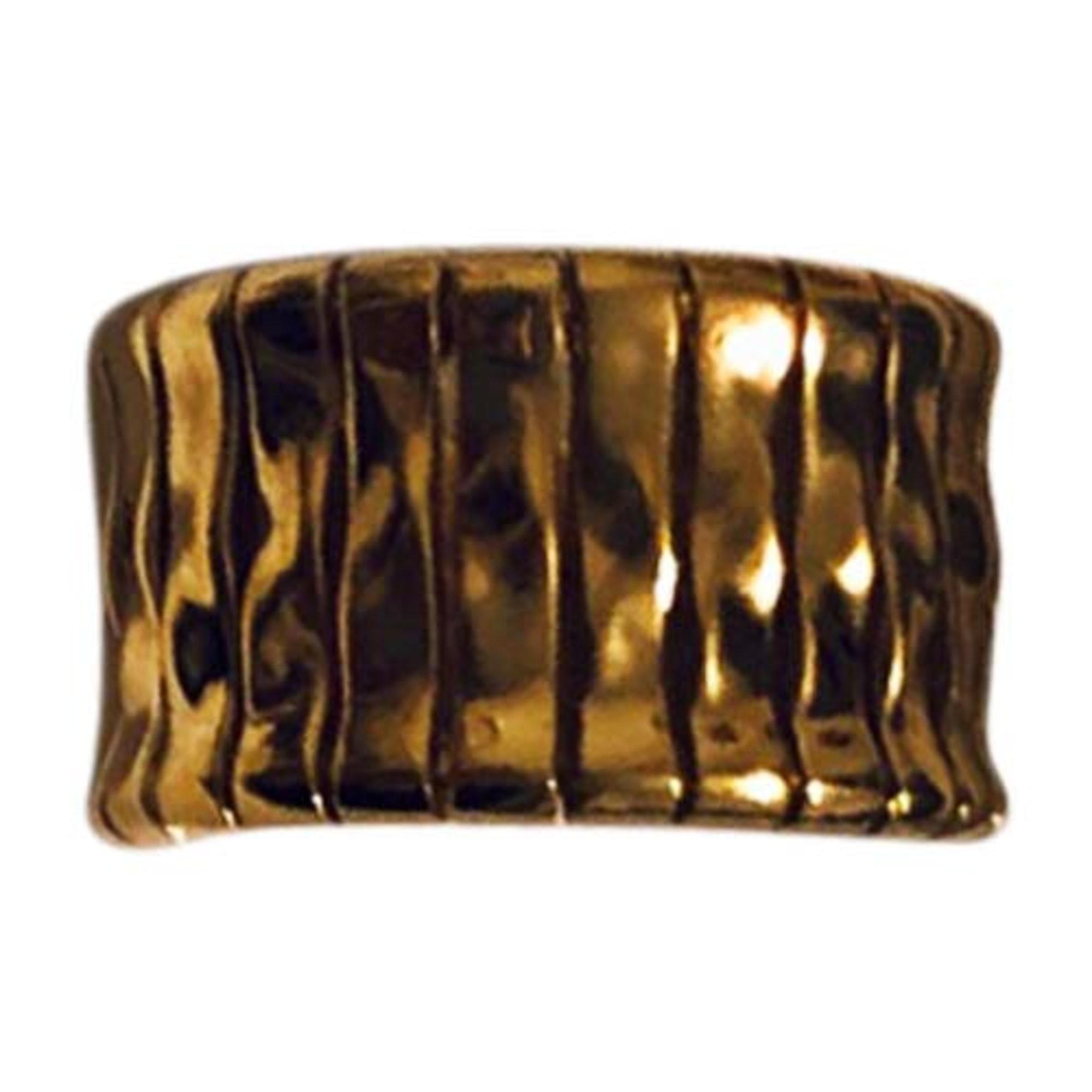 Bague BALENCIAGA Doré, bronze, cuivre
