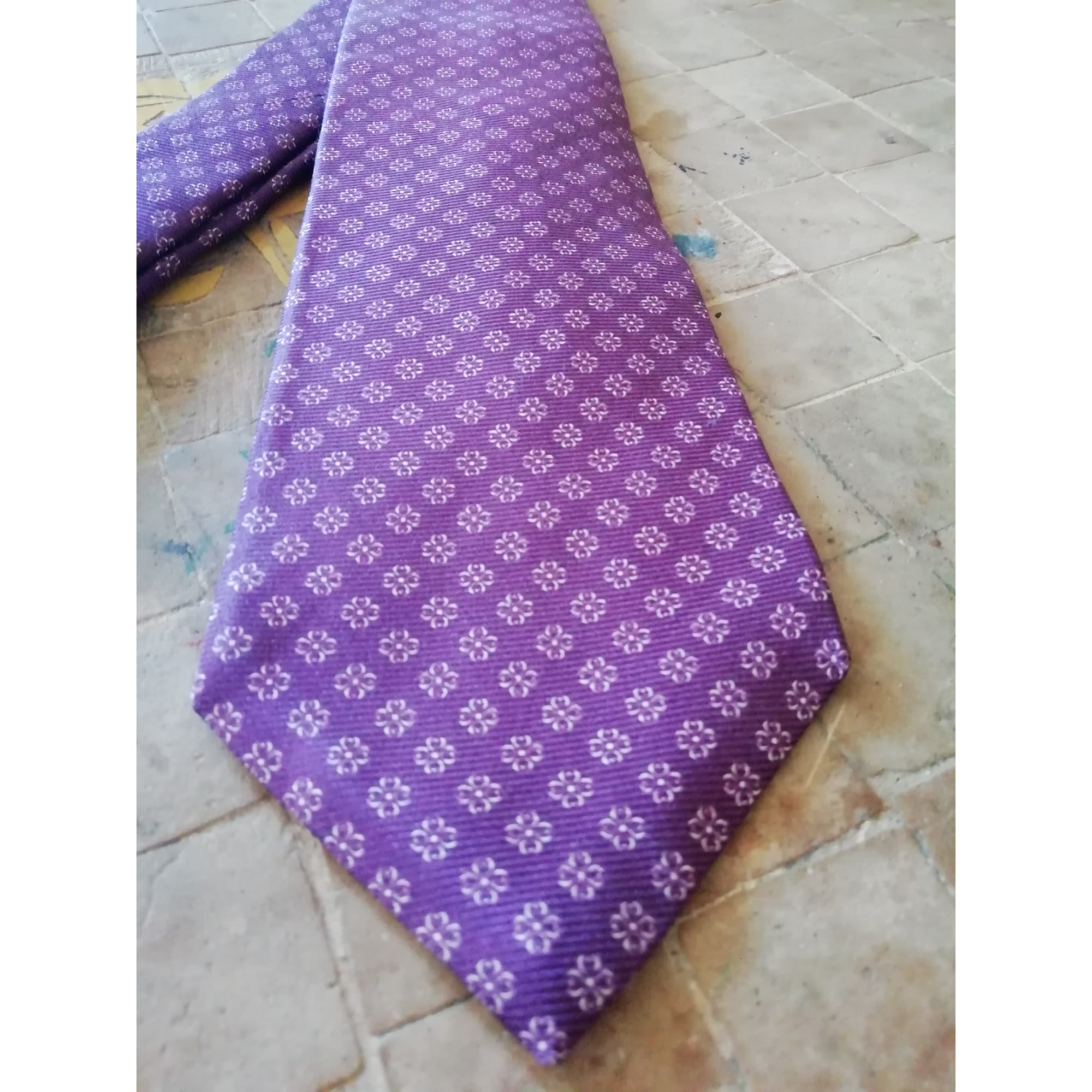 Cravate FAÇONNABLE Violet, mauve, lavande