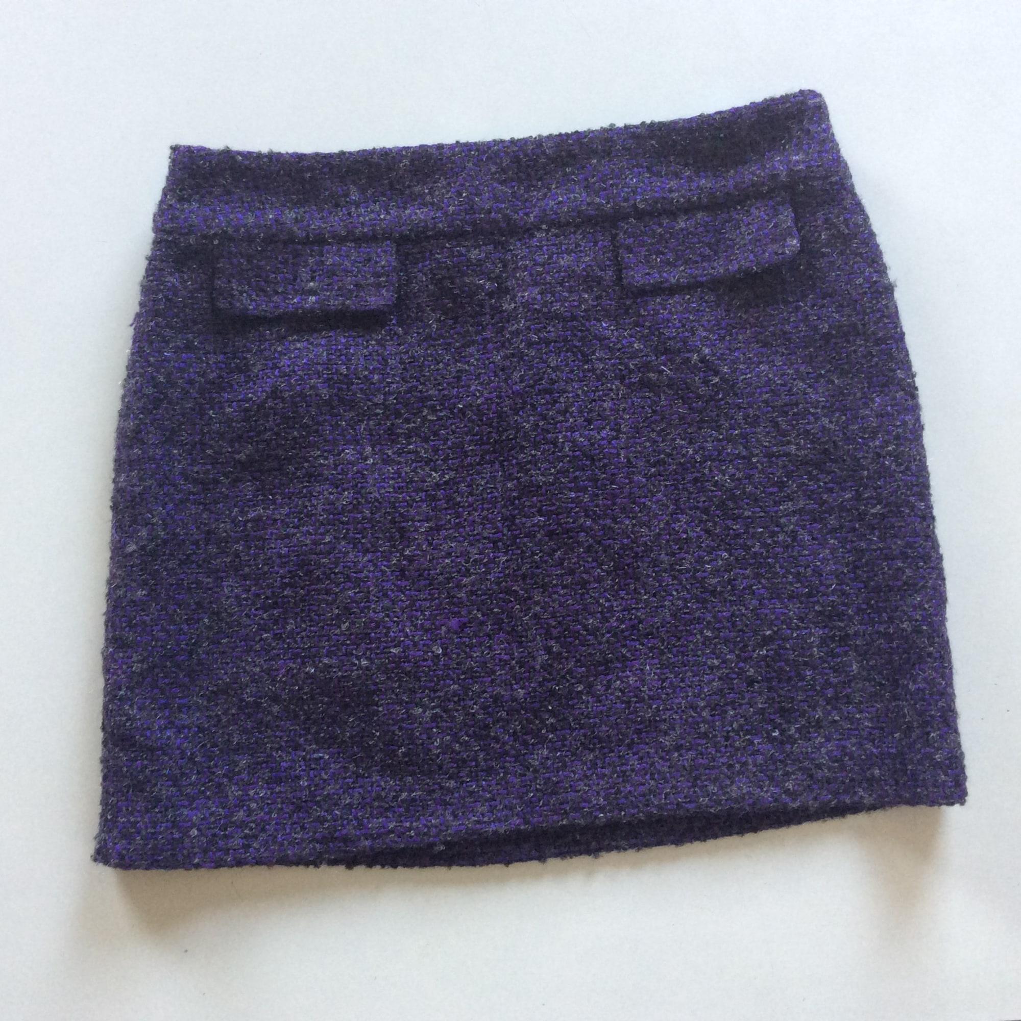 Jupe courte MICHAEL KORS Violet, mauve, lavande