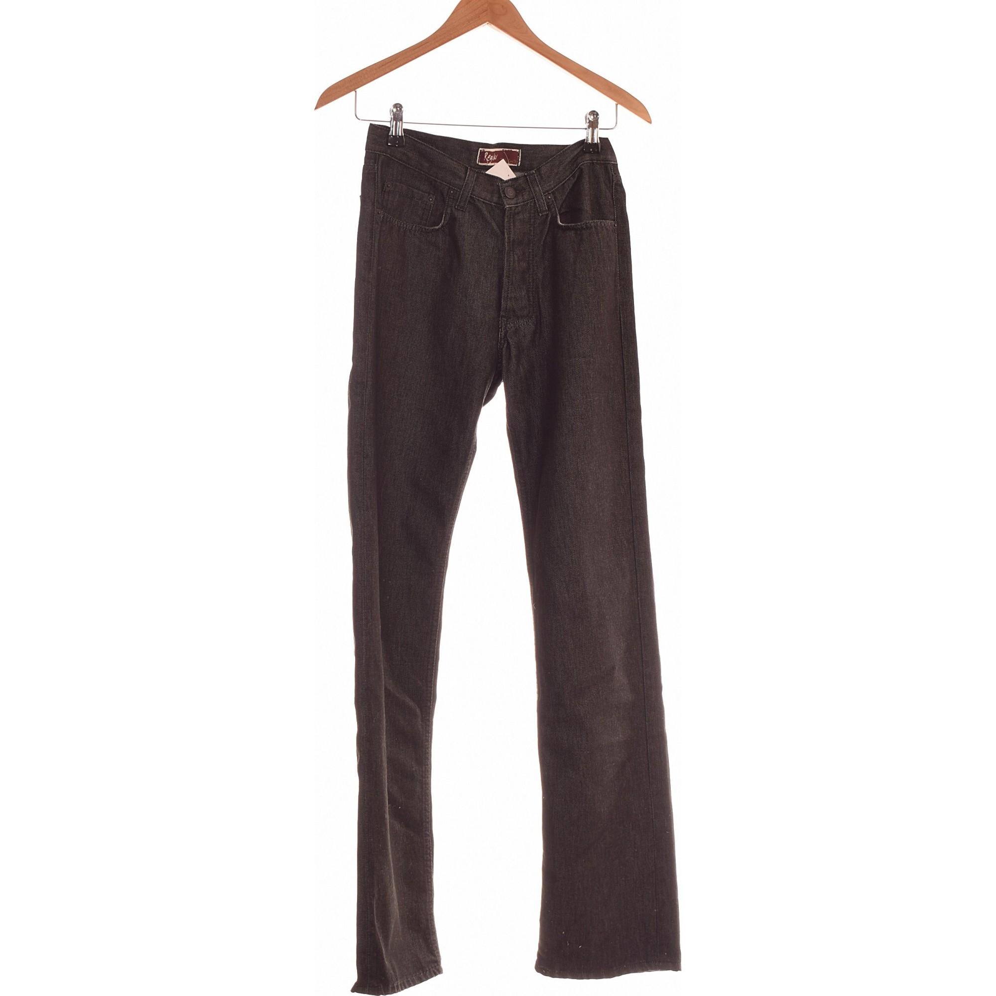 Jeans évasé, boot-cut TEDDY SMITH Gris, anthracite