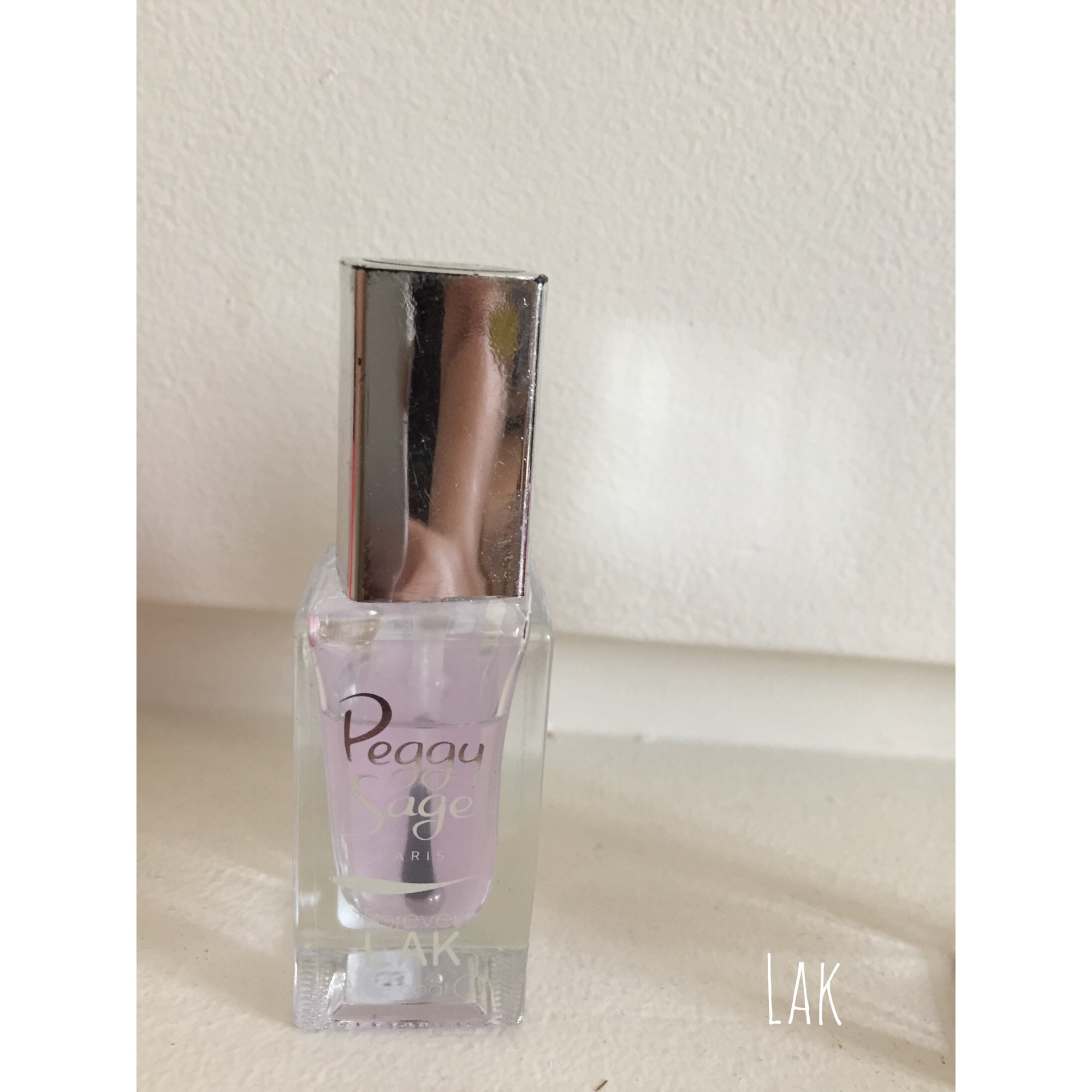 Vernis à ongles PEGGY SAGE Transparent