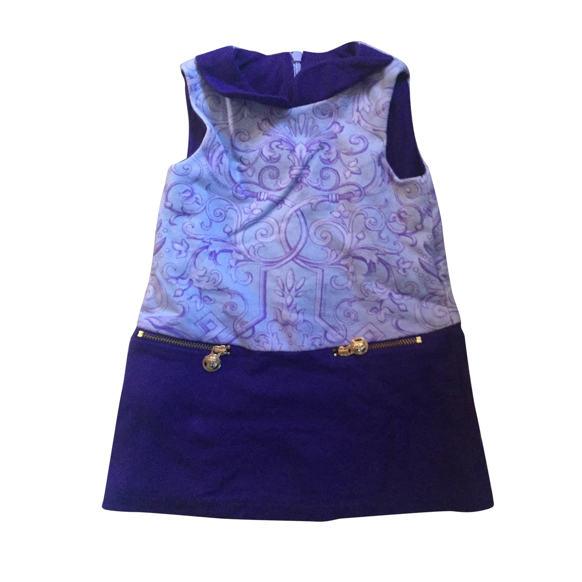 Robe VERSACE Violet, mauve, lavande