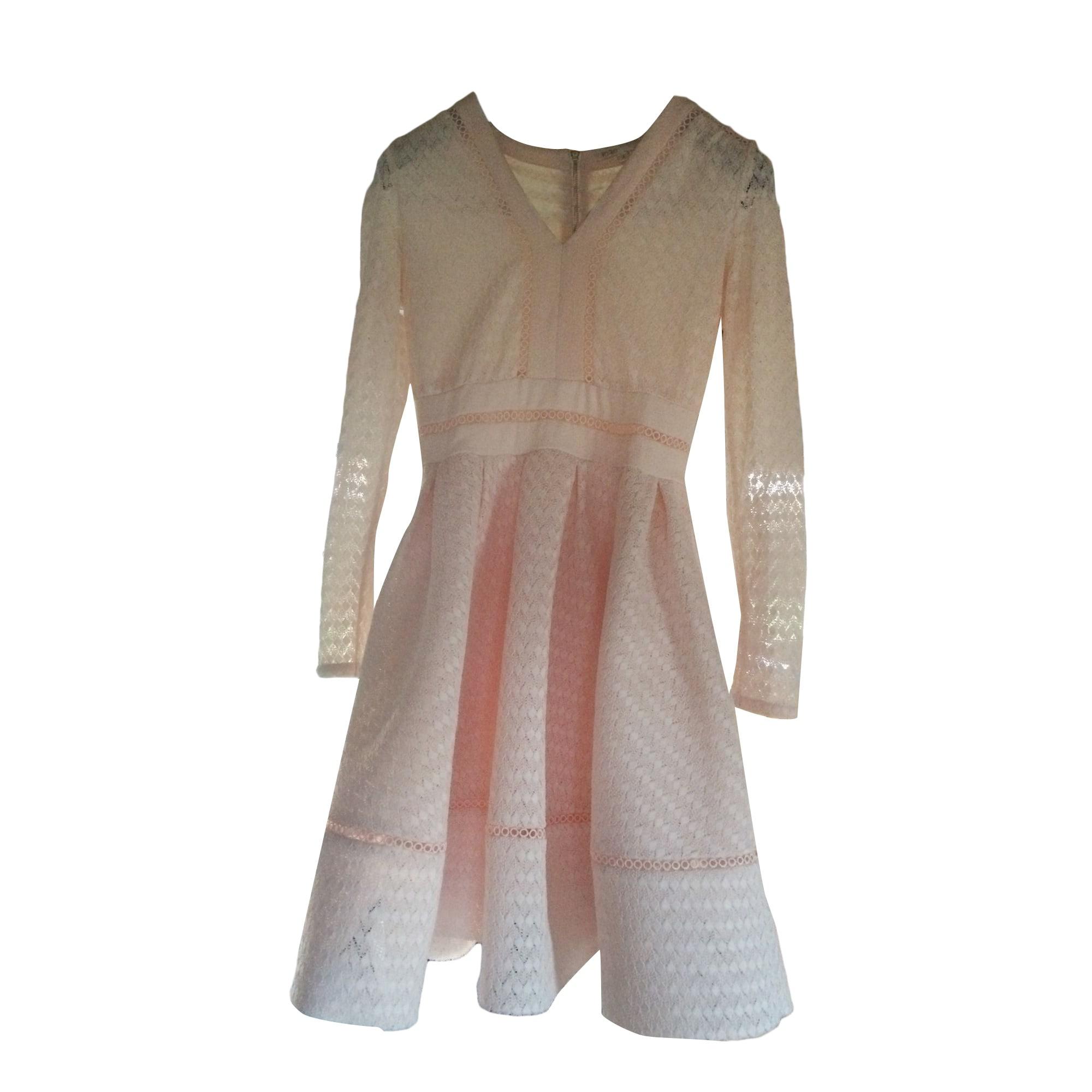 Mini Dress MAJE Pink, fuchsia, light pink