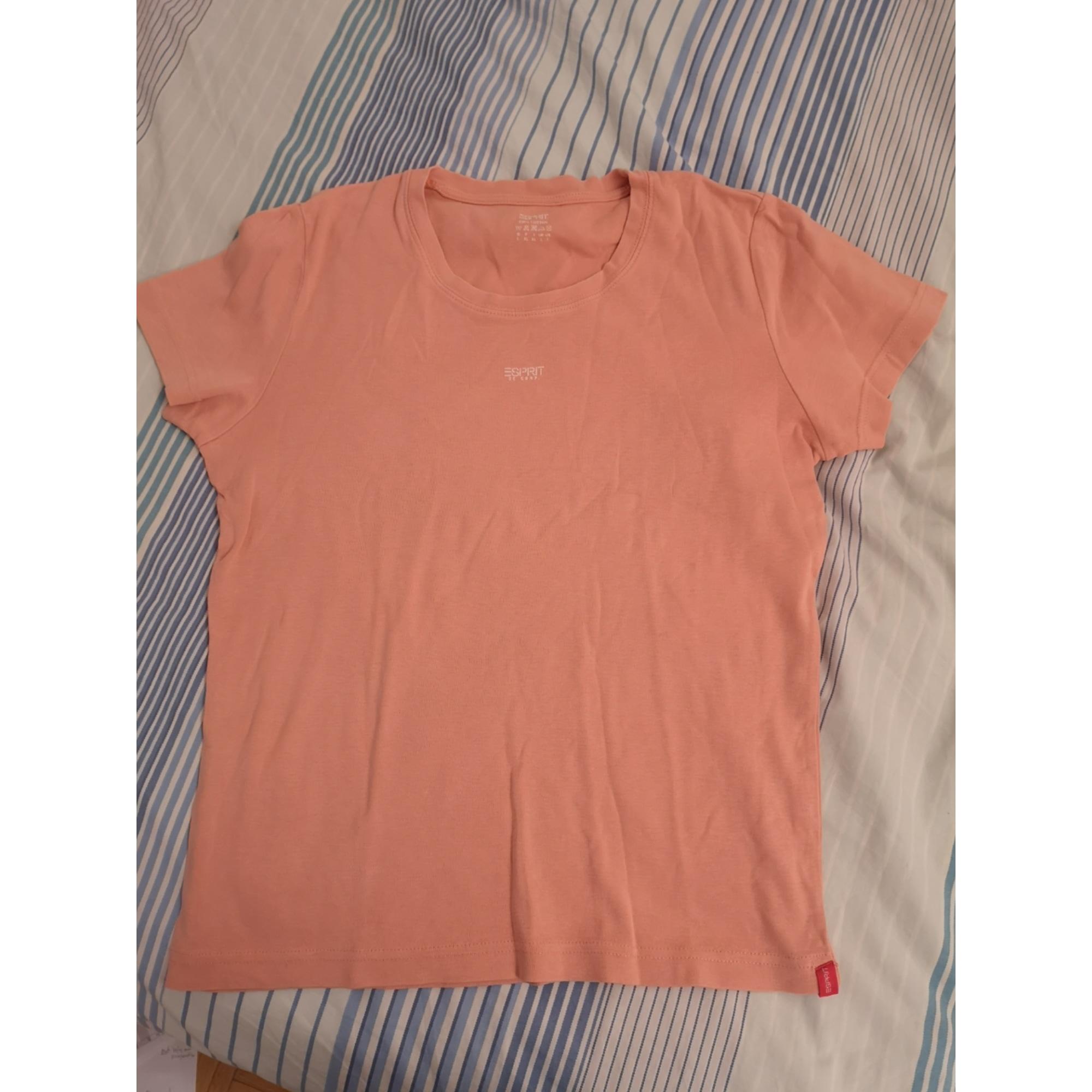 Top, tee-shirt ESPRIT Rose, fuschia, vieux rose