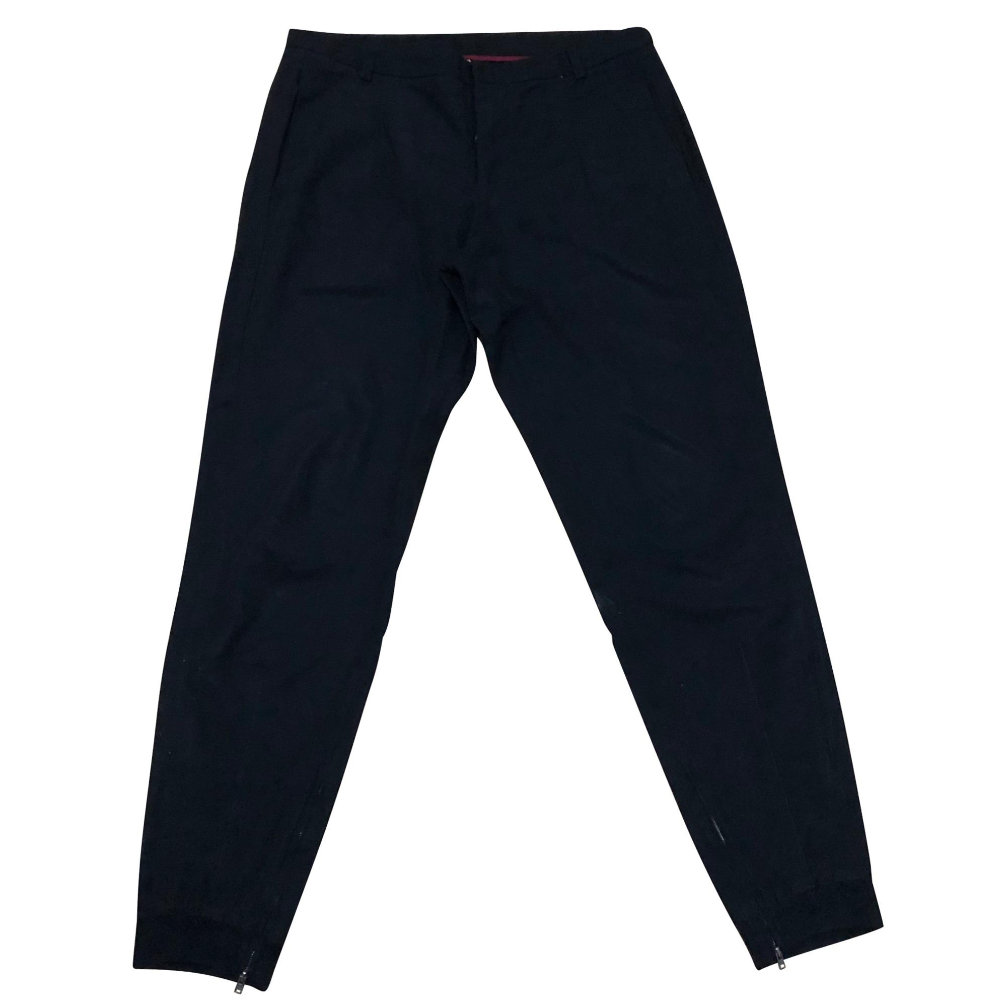 Pantalon droit ANTONIO MARRAS Noir